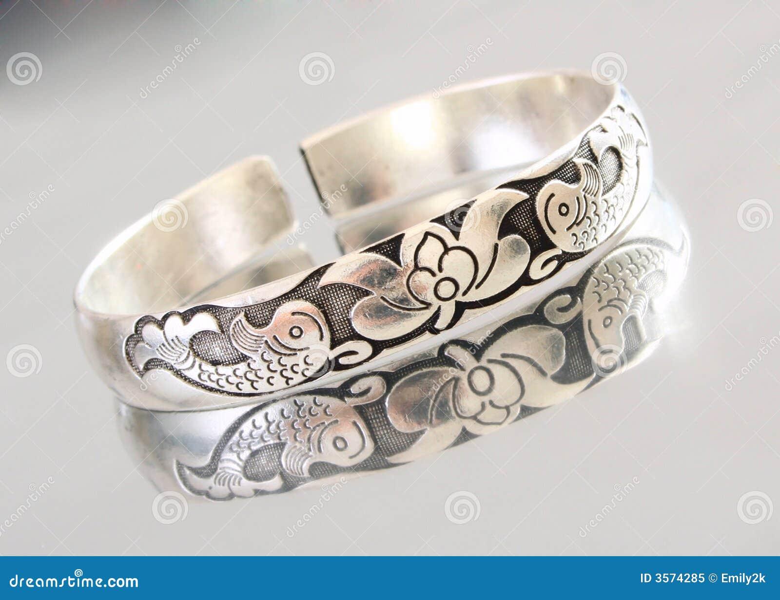 Braccialetto d argento