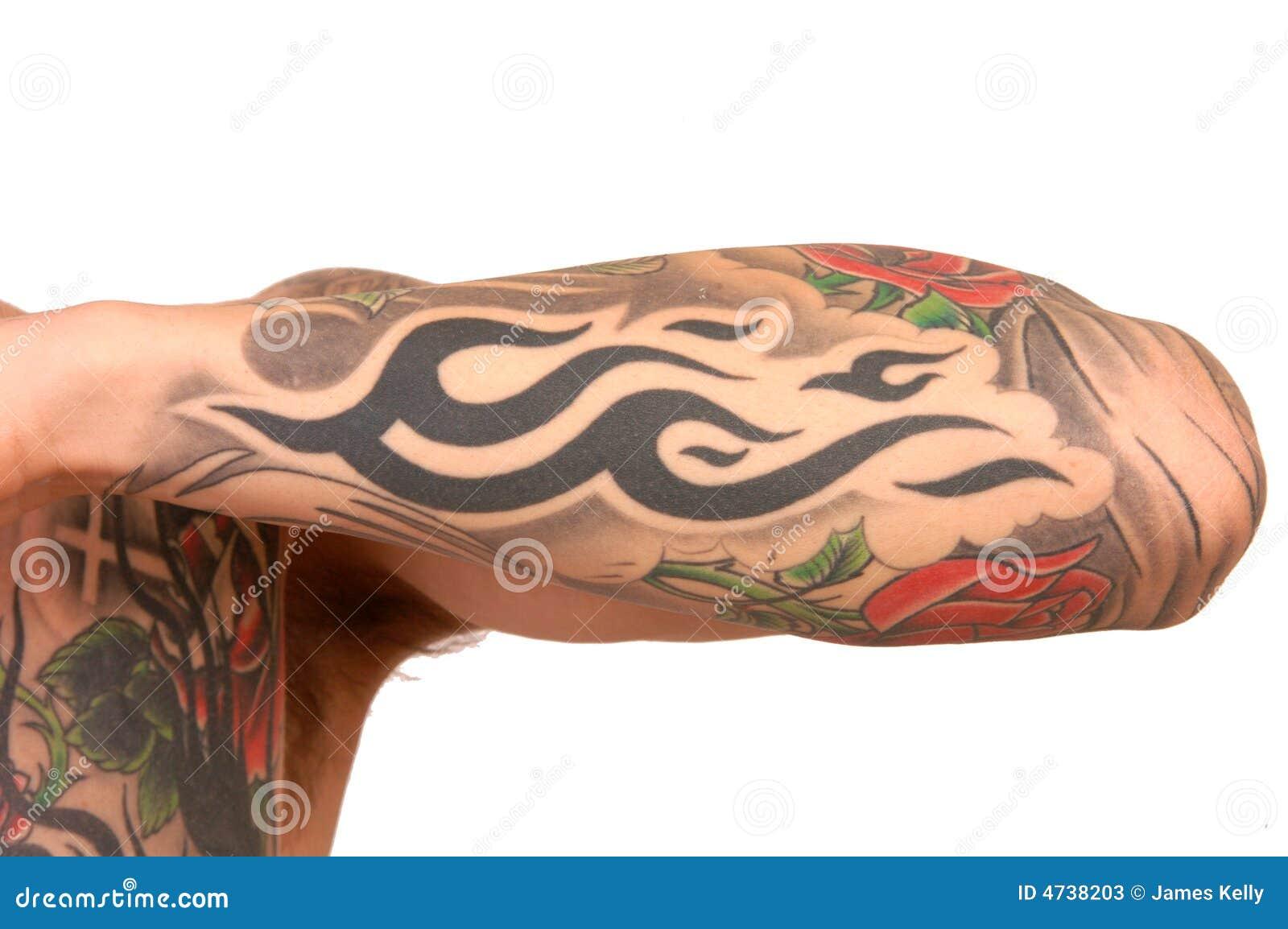 Braccio del tatuaggio