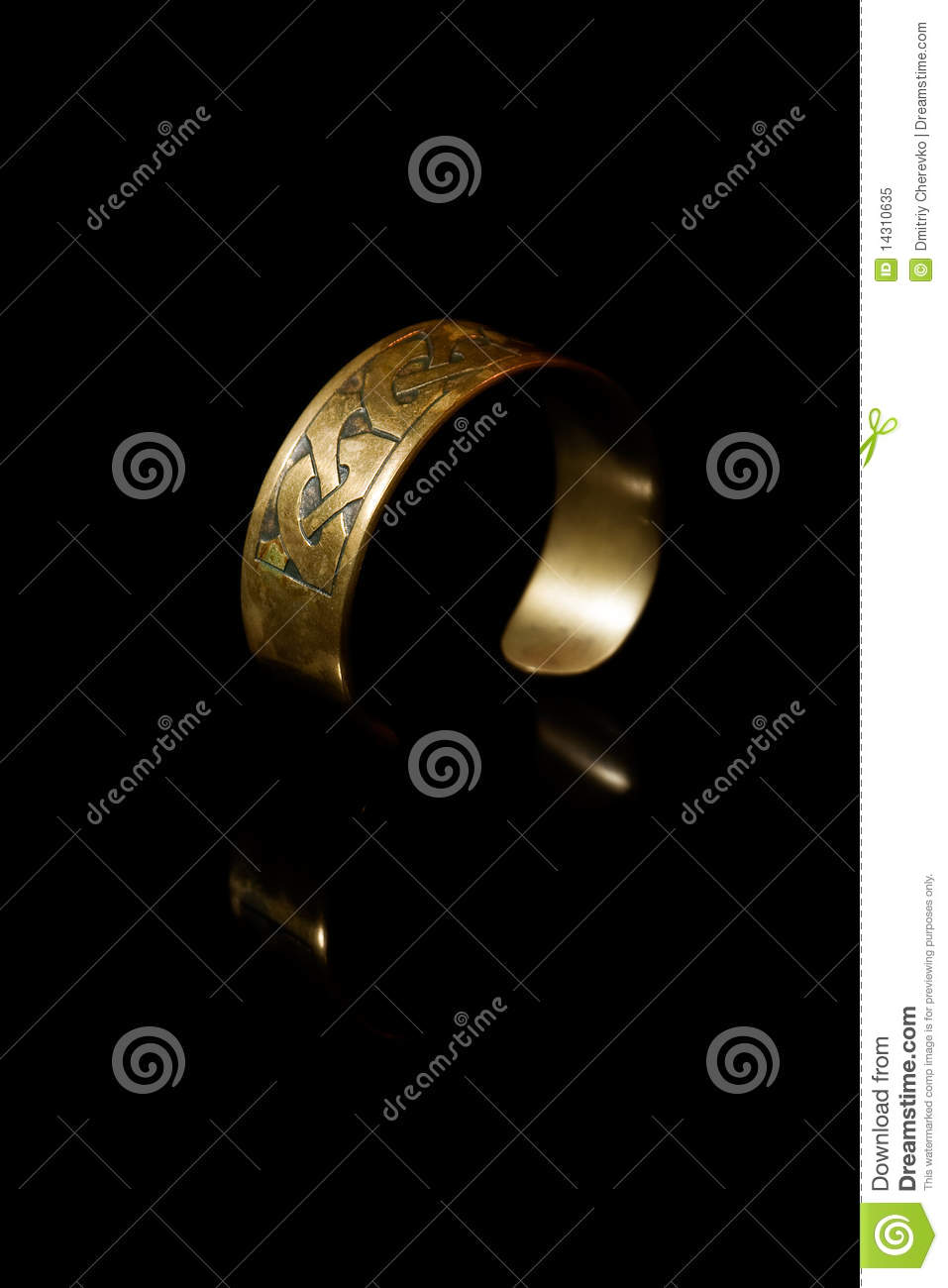Bracelet with ancient scandinavian designs royalty free for Ancient scandinavian designs