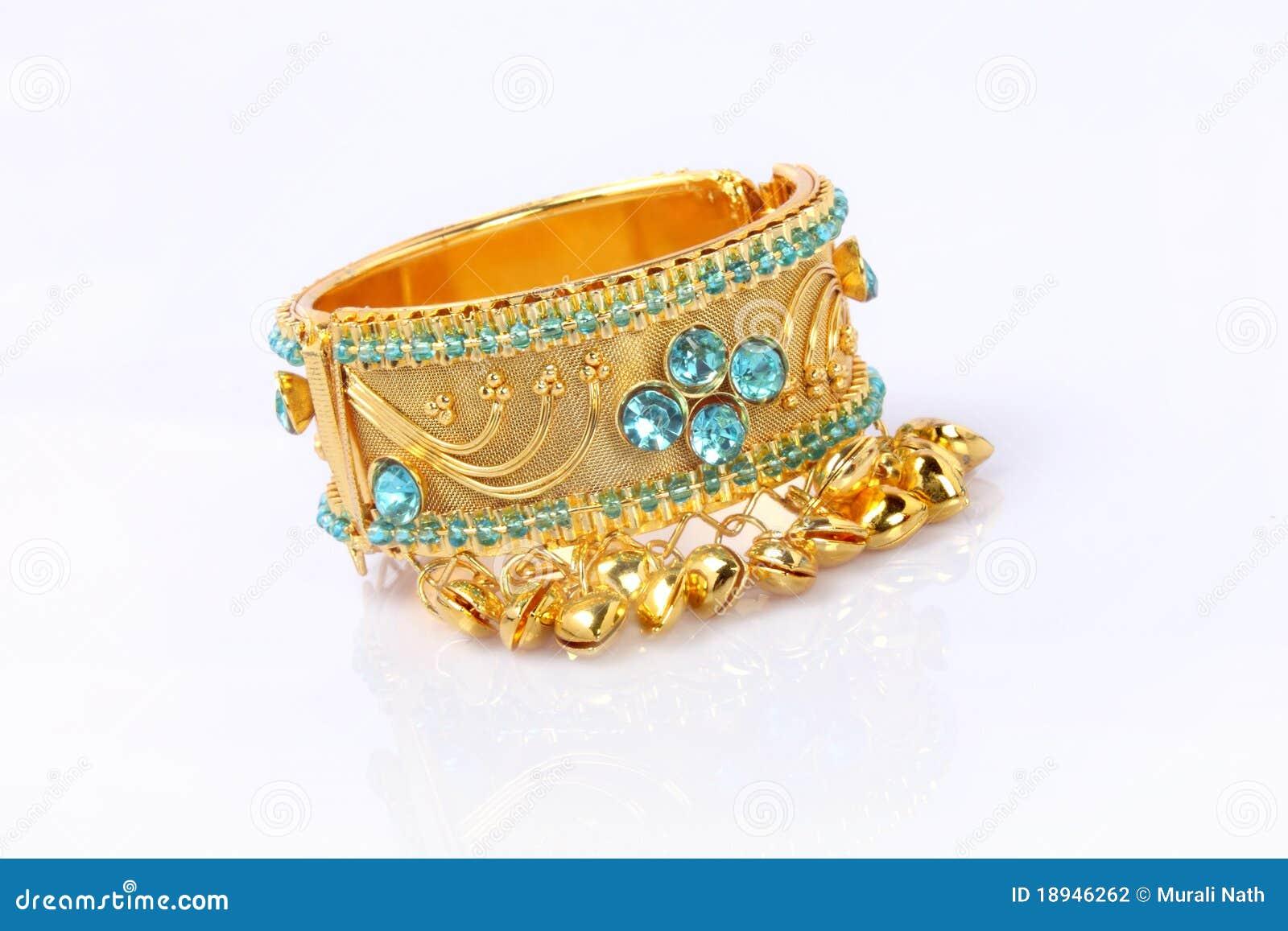 Bracelet indien d or