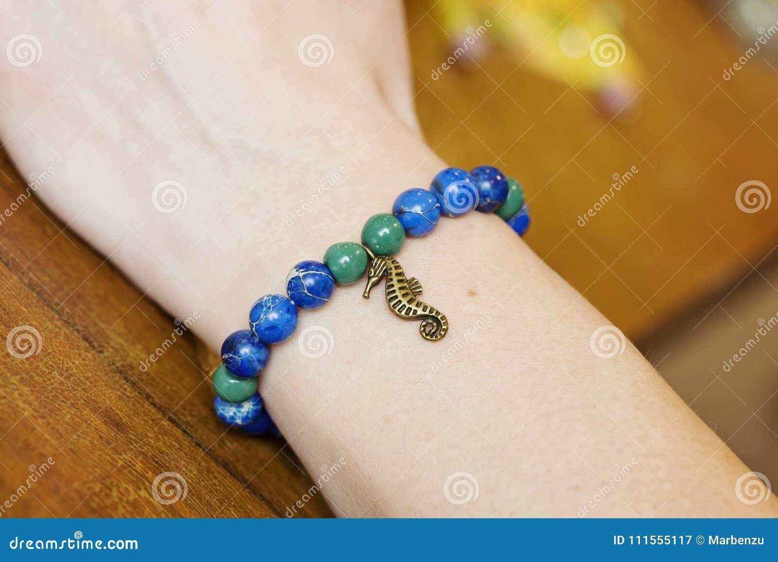 Bracelet made from jasper