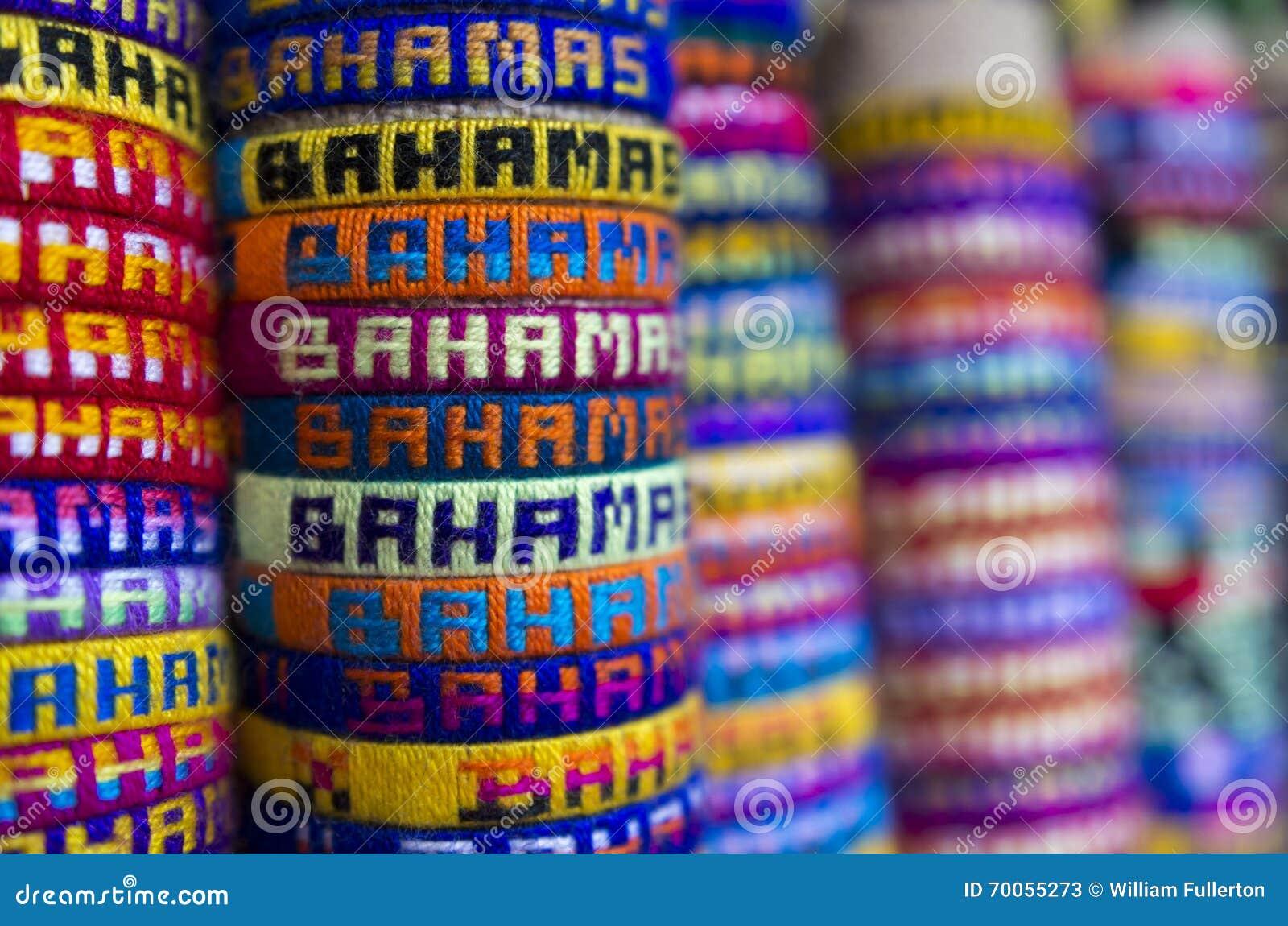 Braceletes do Bahamas