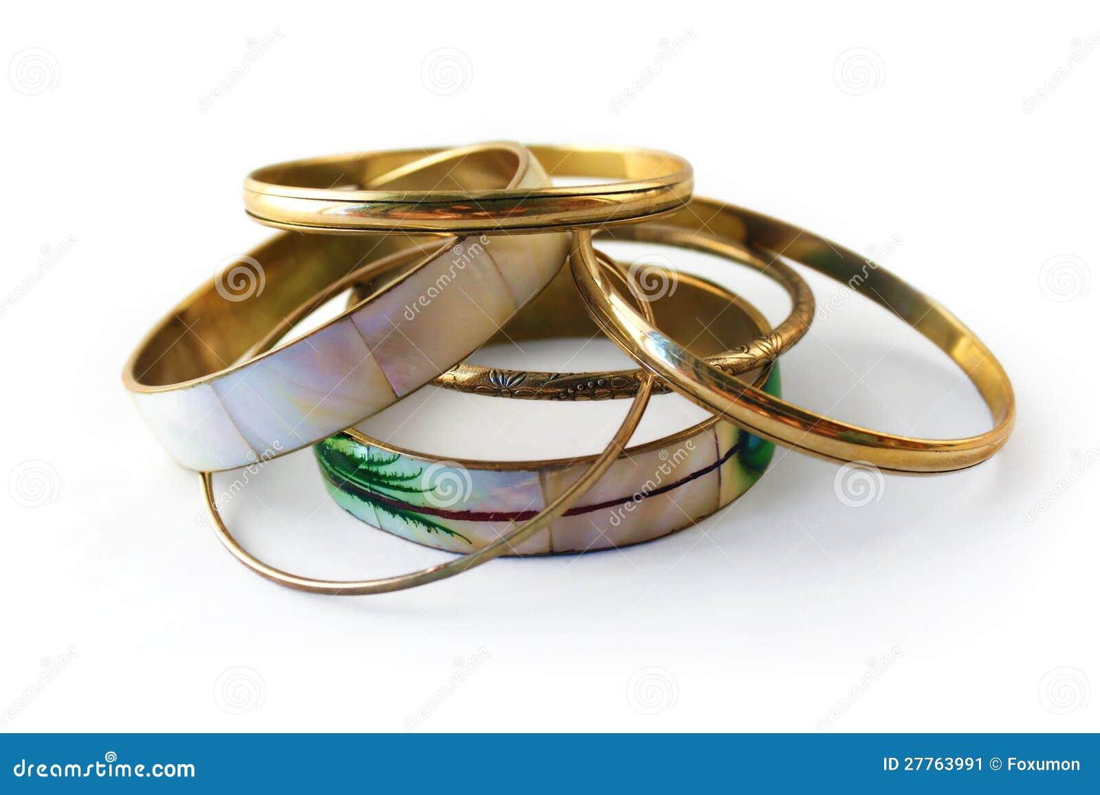 Bracelets 2 d or