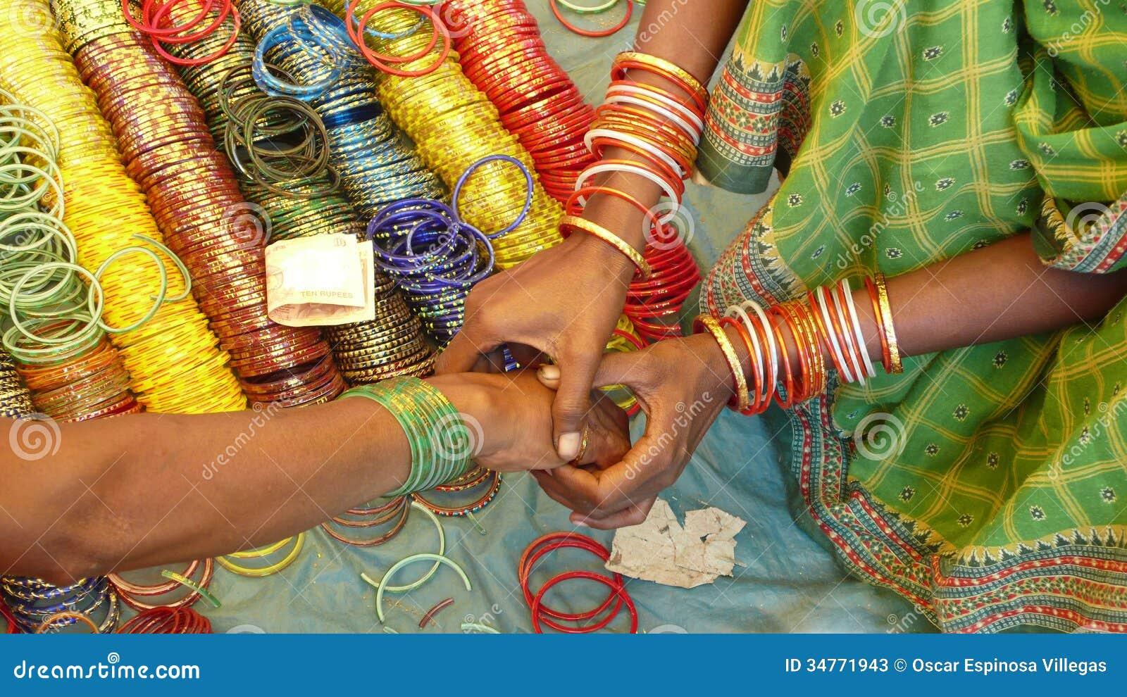 Bracelets, Orissa, India Stock Photos - Image: 34771943