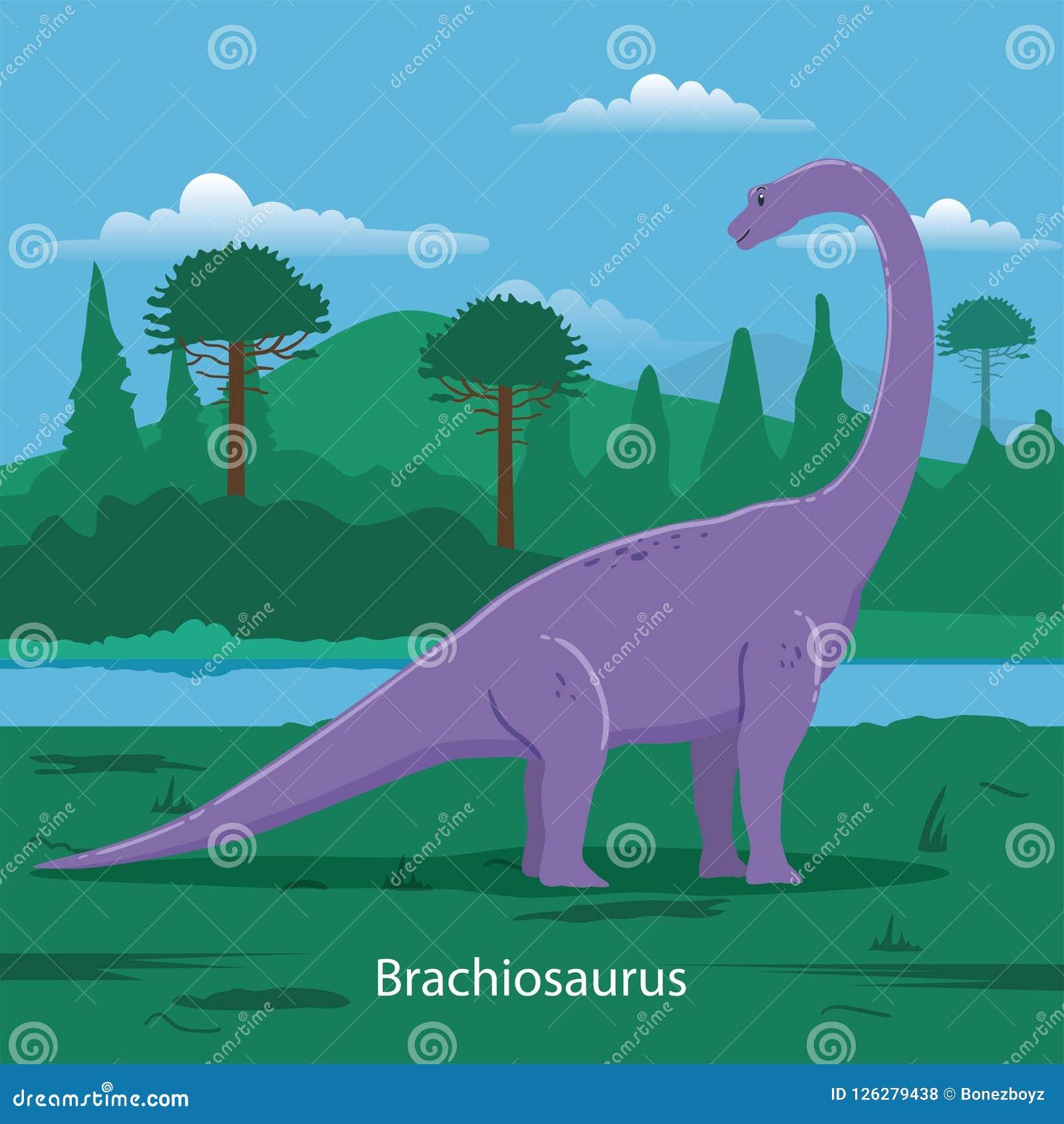 Brachiosaurus Animal prehistórico