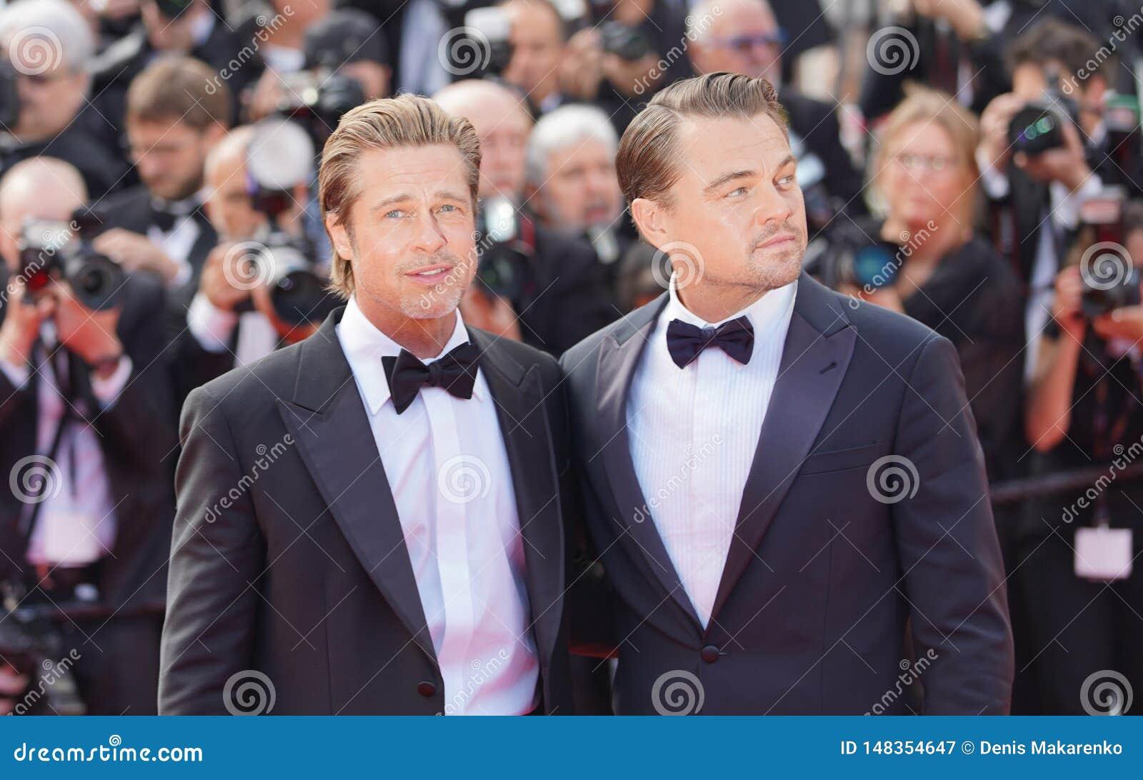 , Brad Pitt e Leonardo DiCaprio
