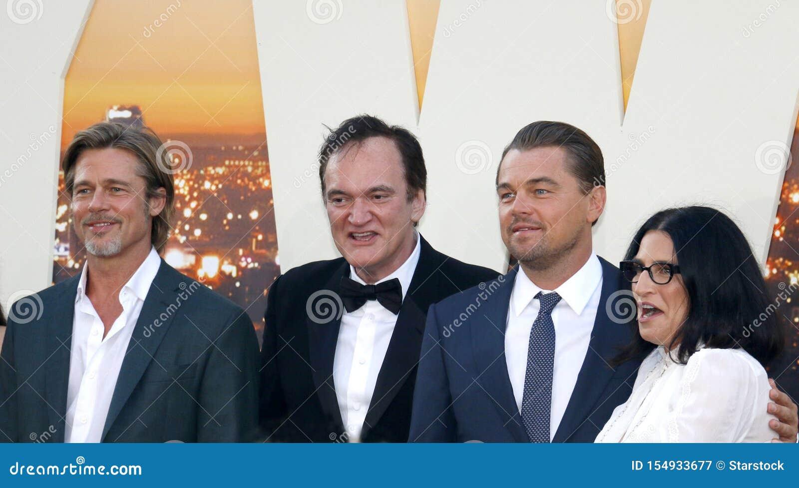 Brad Pitt, Leonardo DiCaprio i Quentin Tarantino,