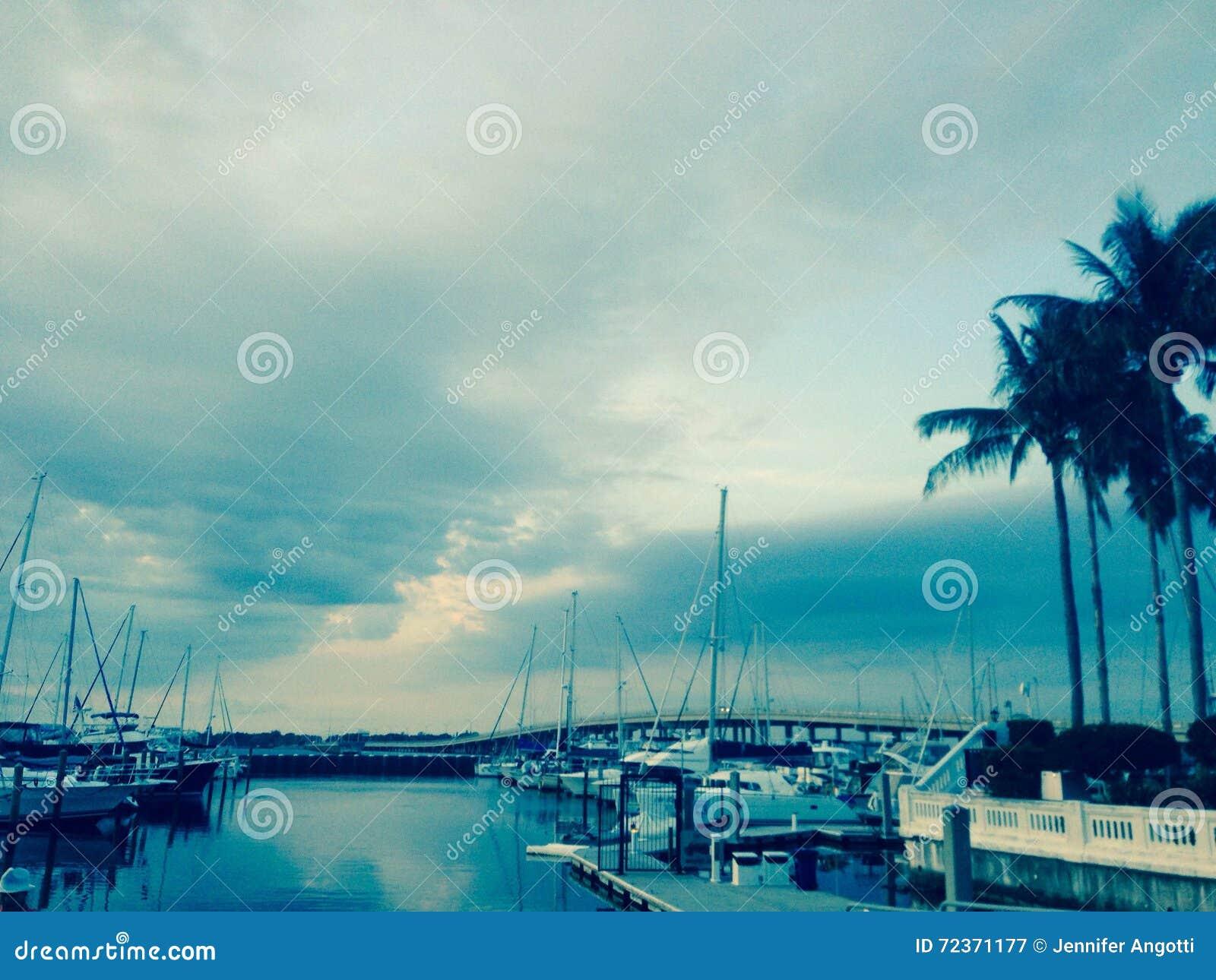 Bradenton海滩Riverwalk萨拉索塔海湾佛罗里达船坞
