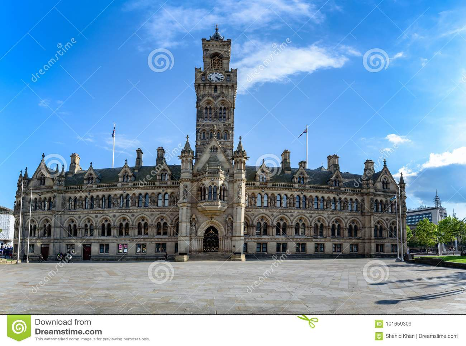 Bradford urząd miasta Anglia