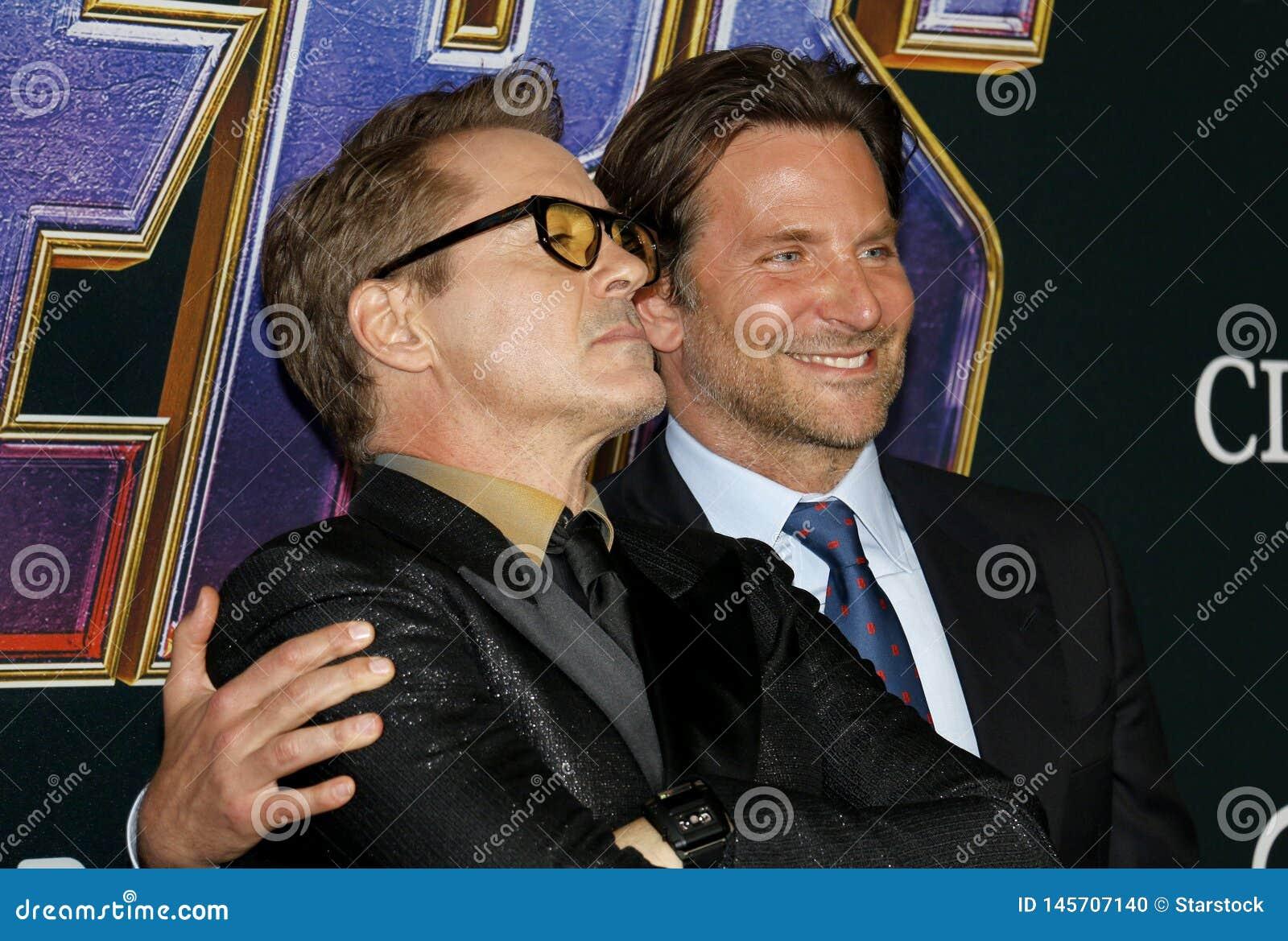Bradley Cooper en Robert Downey Jr