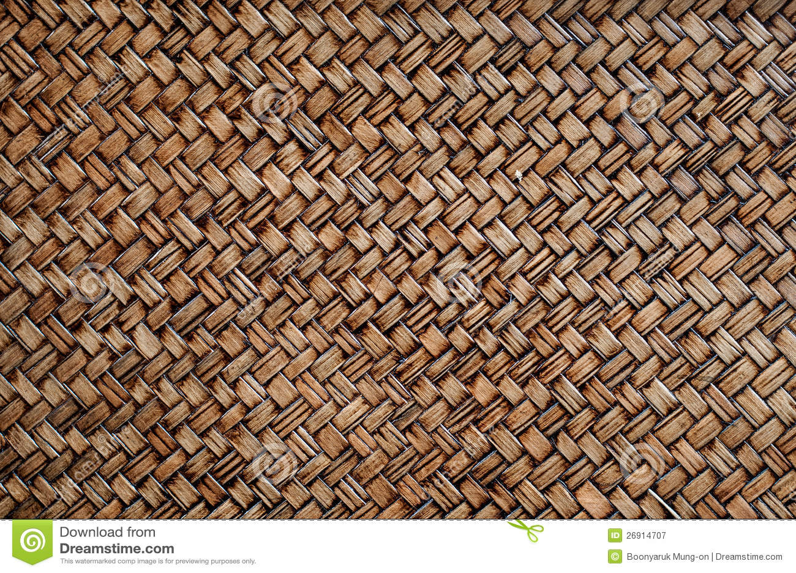 Braided Brushwood Bamboo Basket Texture Royalty Free Stock Photography ...