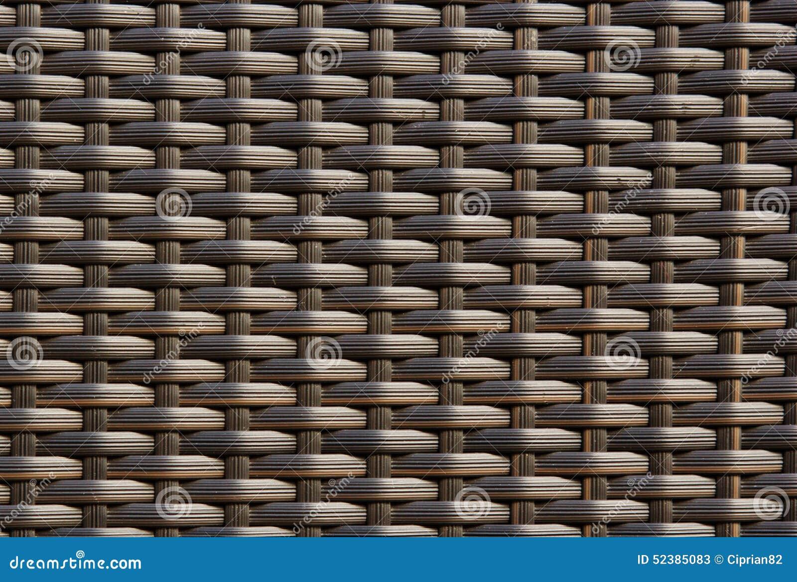 Braided wicker texture