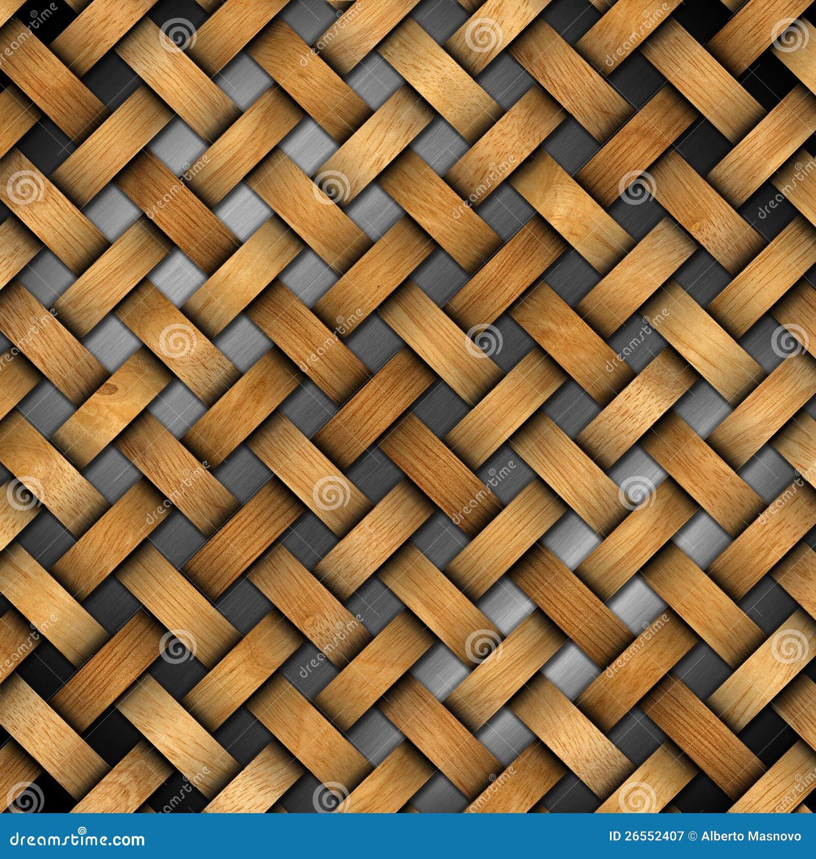 Wooden Wall Decor Print