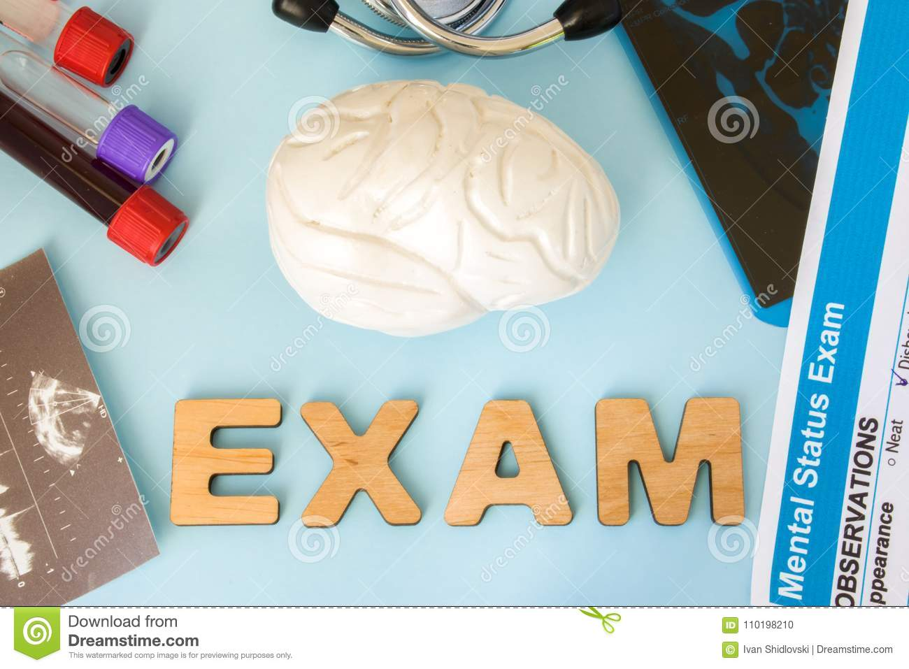 Brain Or Central And Peripheral Nervous System Examination, Tests ...
