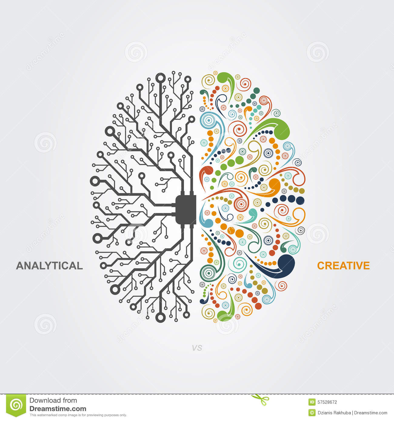 brain concept stock vector image 57528672 brain concept