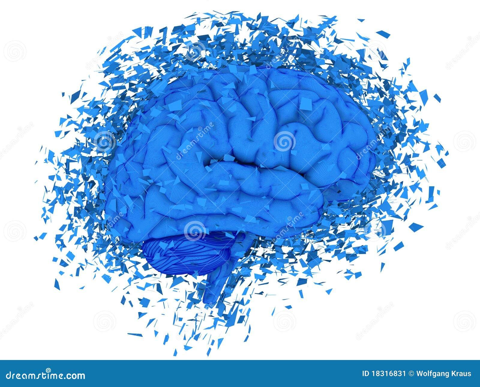 brain exploding stock illustration illustration of