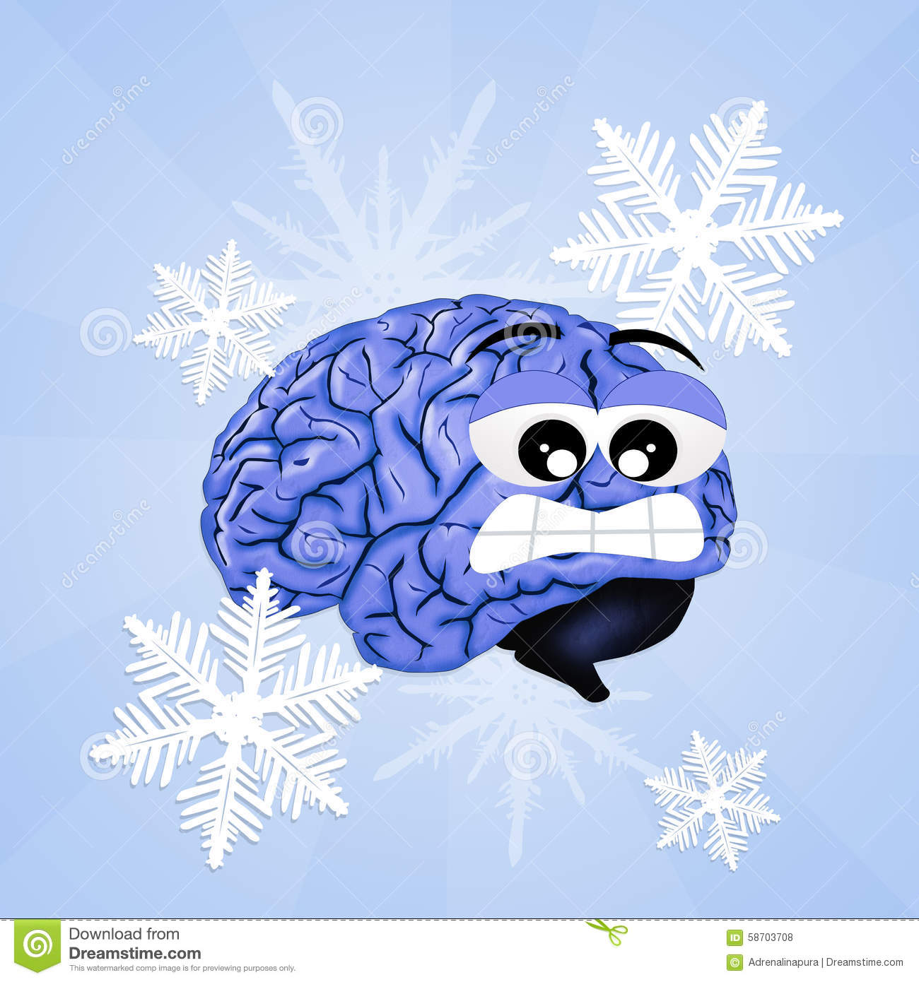 Printed Circuit Board Manufactureronline Quoteprinted Brain Freeze Stock Illustration Of Frozen 58703708
