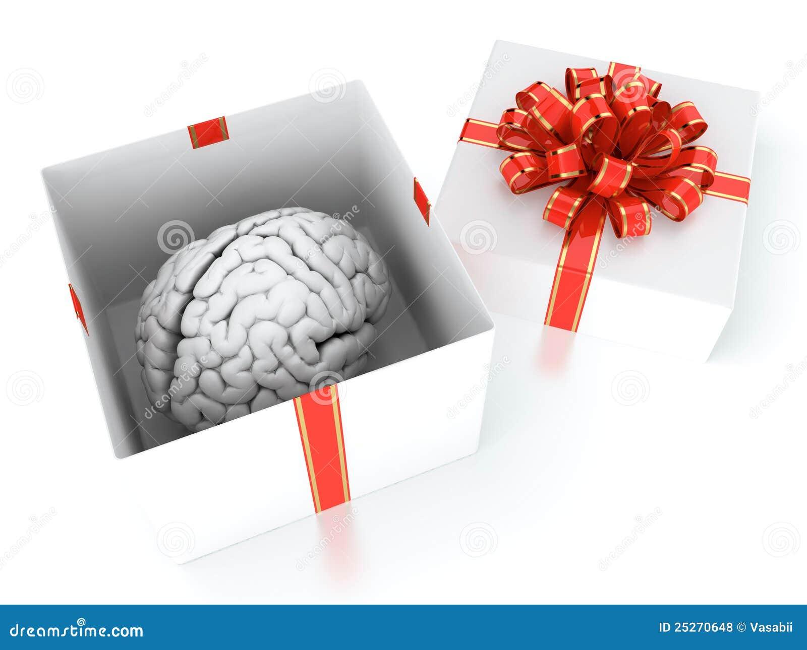 Brain Gift Royalty Free Stock Photos - Image: 25270648
