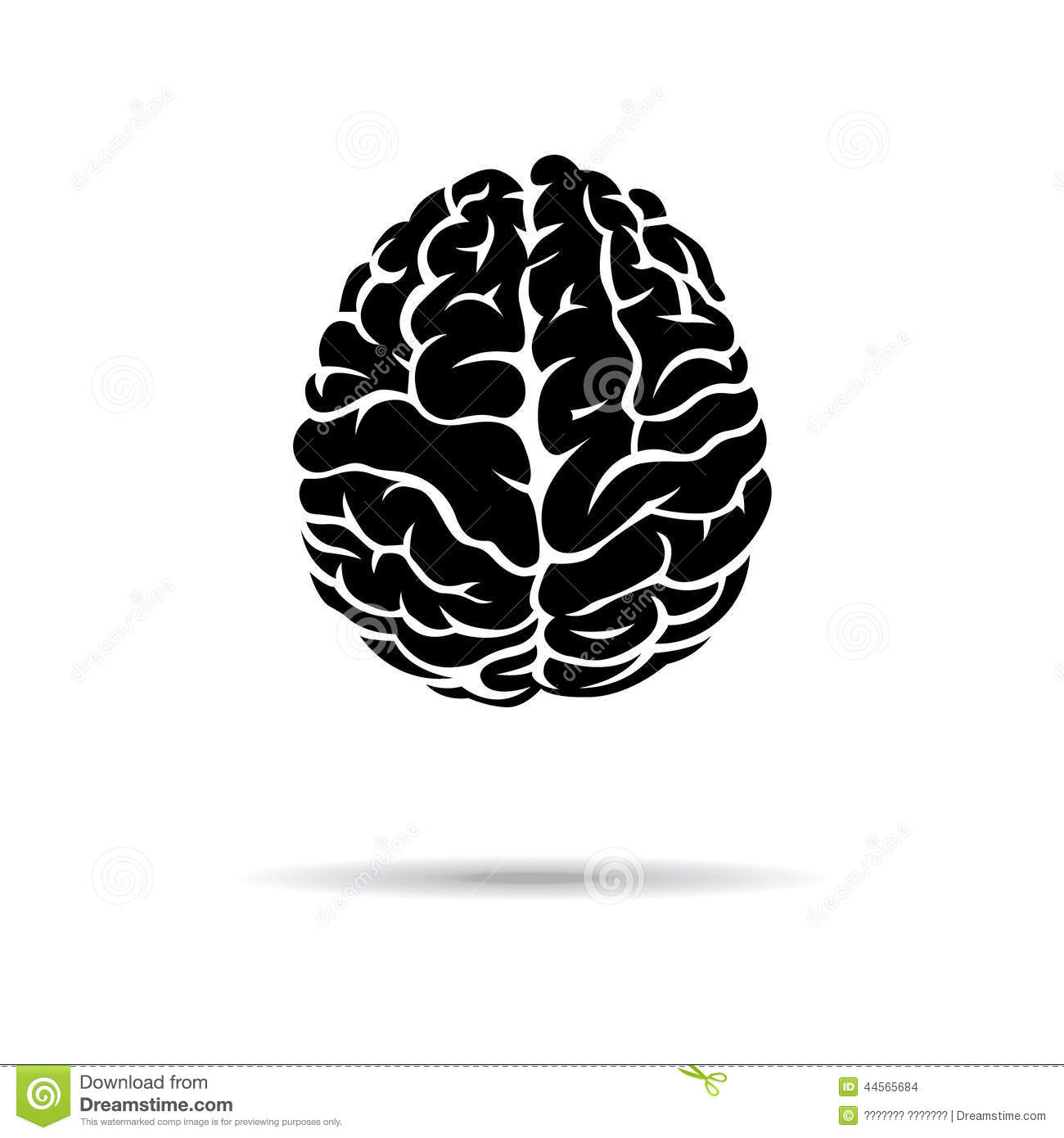 More similar stock images of ` Brain icon. On the white background ...