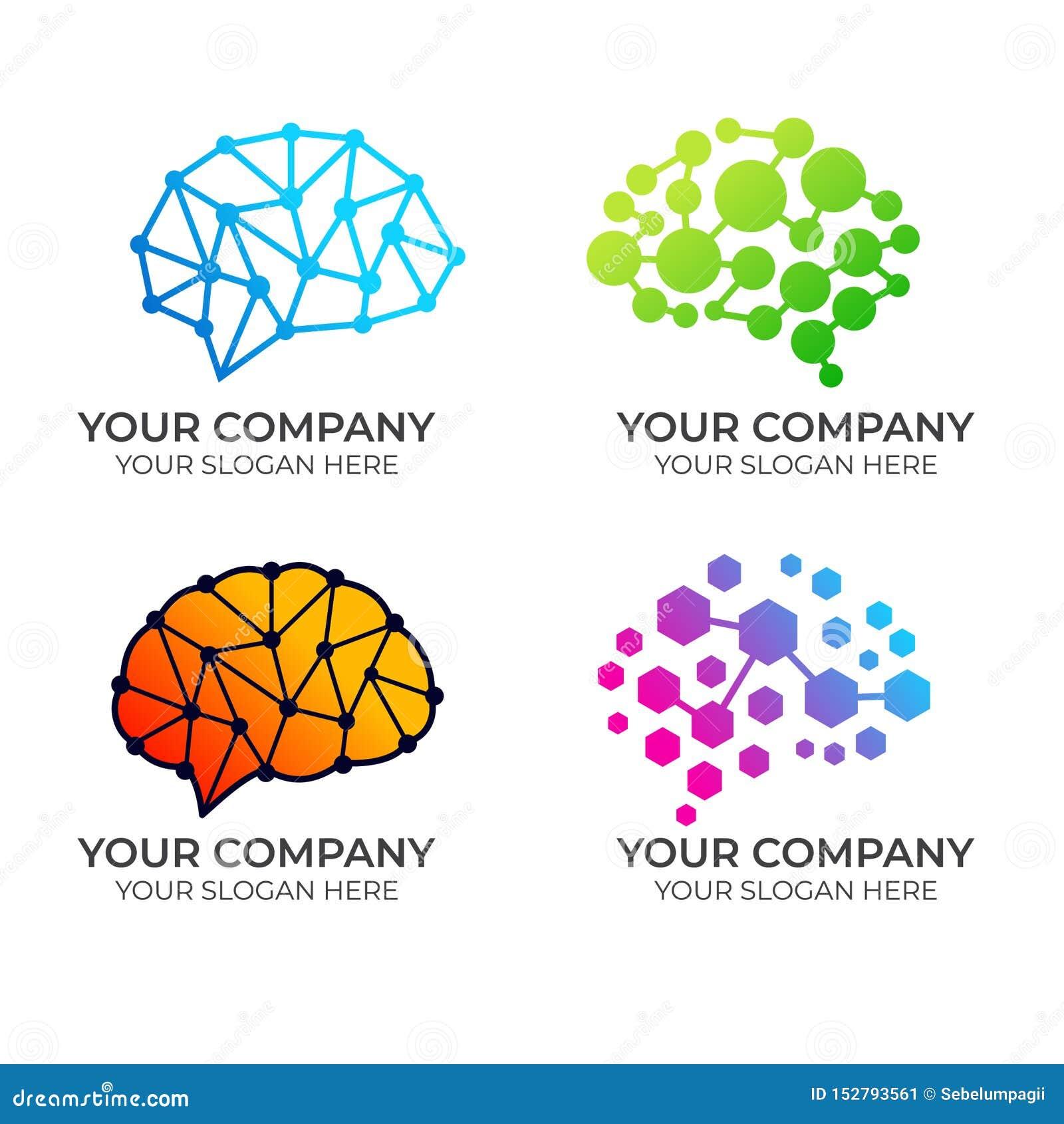 Brain Logo-ontwerp