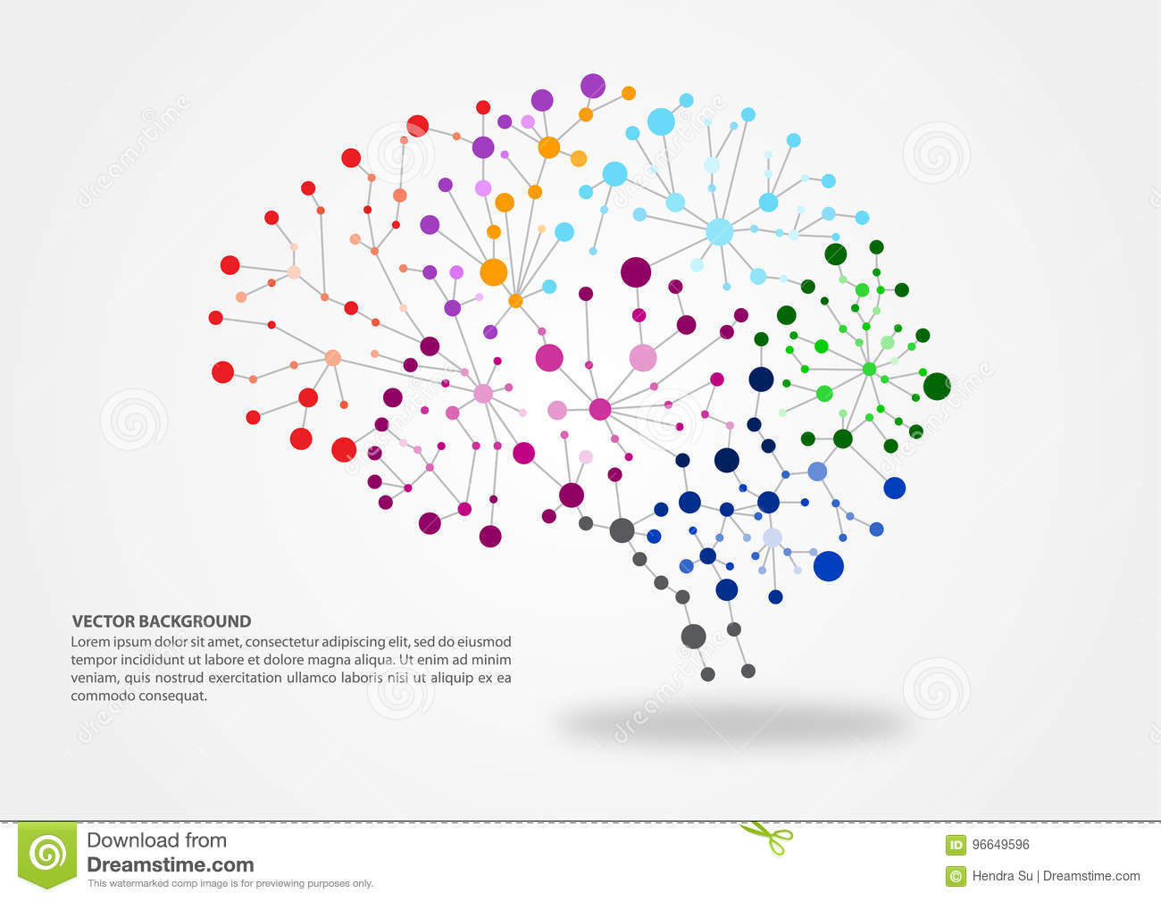Brain mapping concept