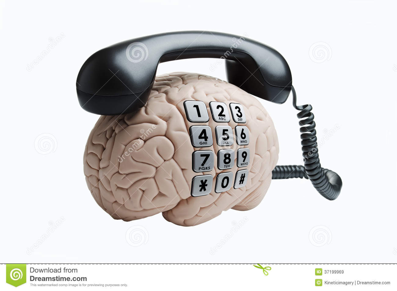 brain with phone royalty free stock images image 37199969 brain clipart cartoon brain clipart