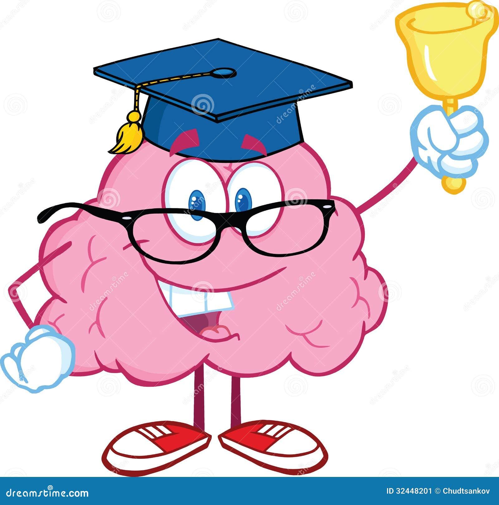 Brain Teacher Characte...