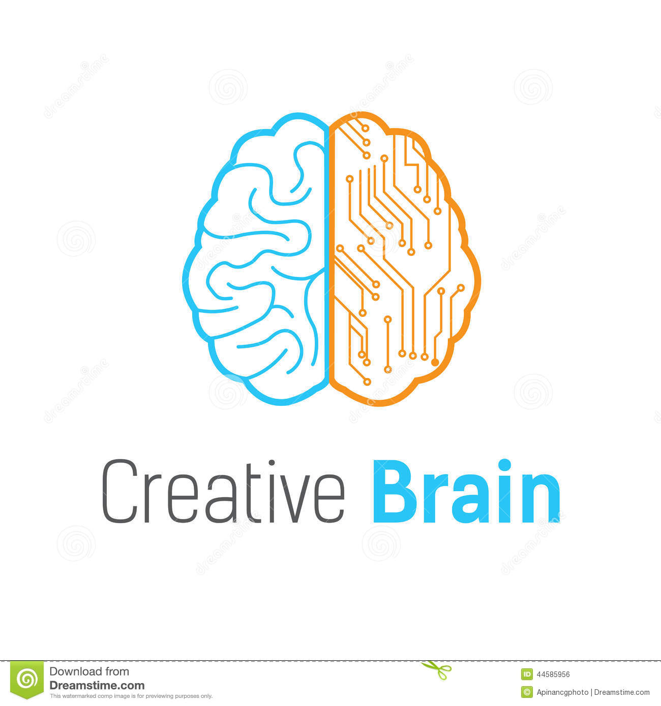 brain vector logo - photo #2