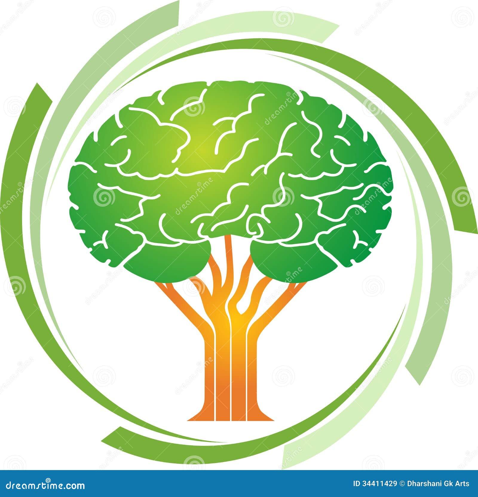 brain tree logo royalty free stock photos image 38414778