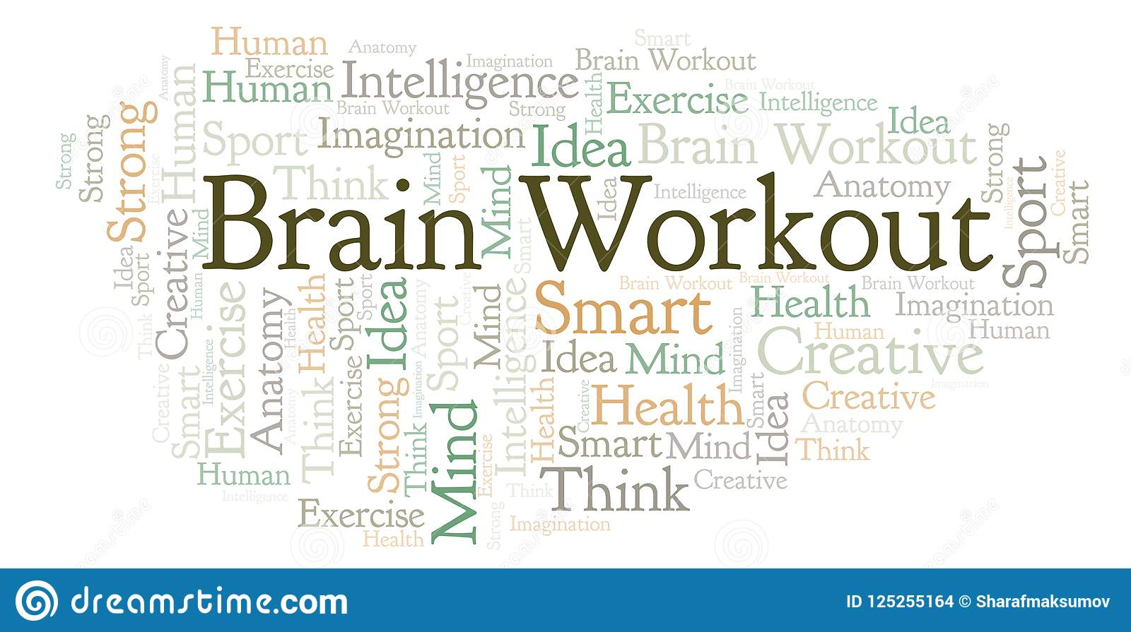 Brain Workout-Wortwolke