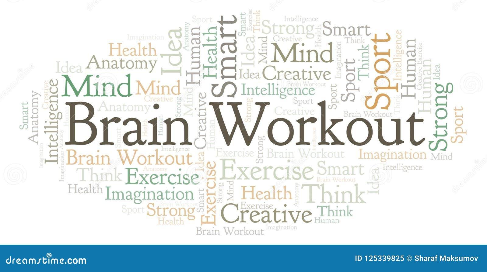 Brain Workout-Wortwolke