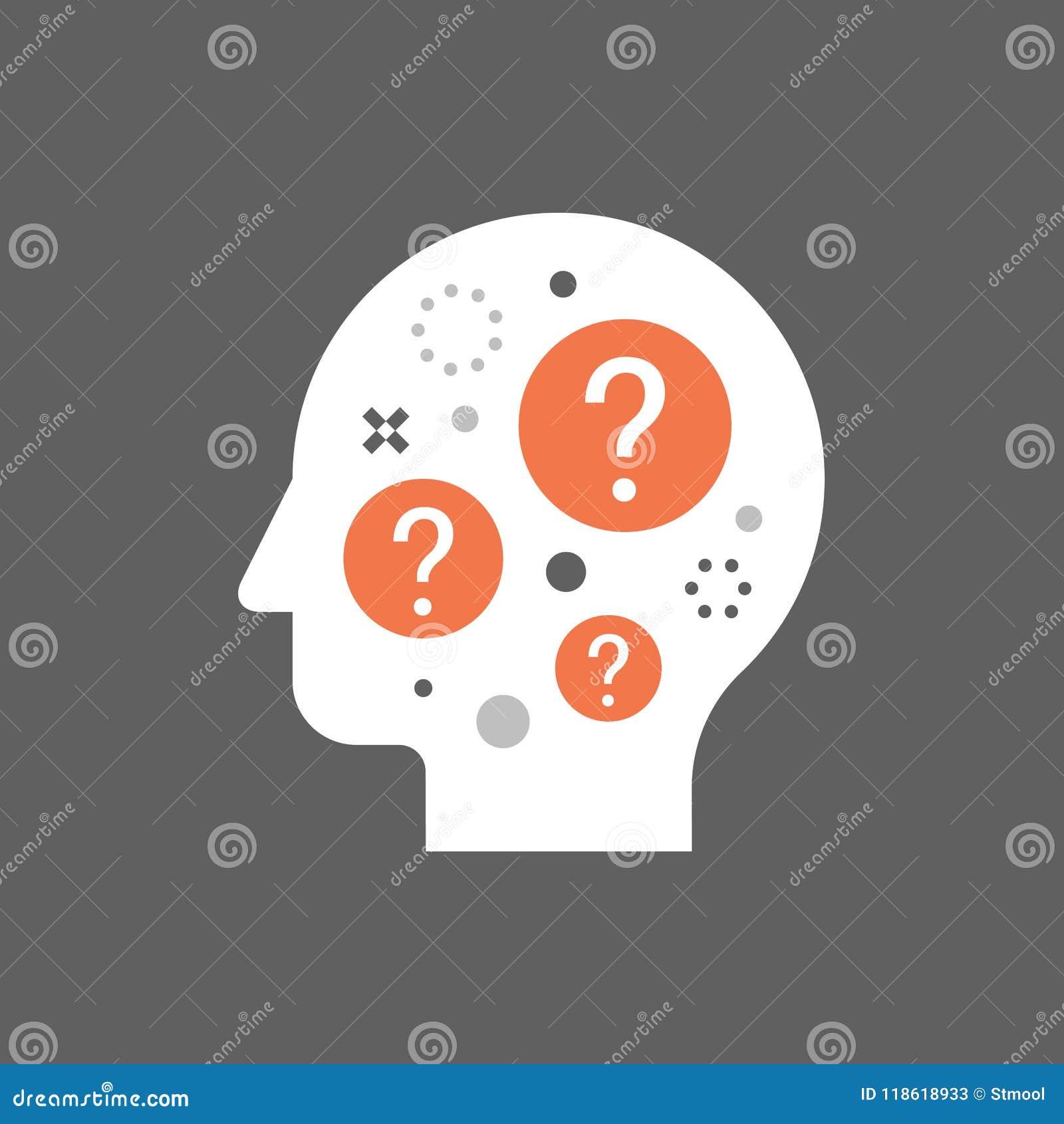 Brainstorm Concept Decision Making Difficult Choice Moral Dilemma