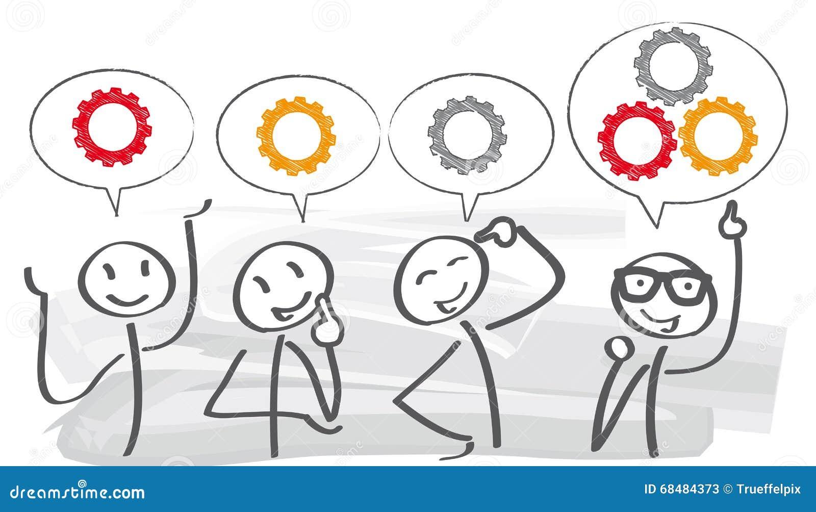 Brainstorming † pracy zespołowej pojęcie