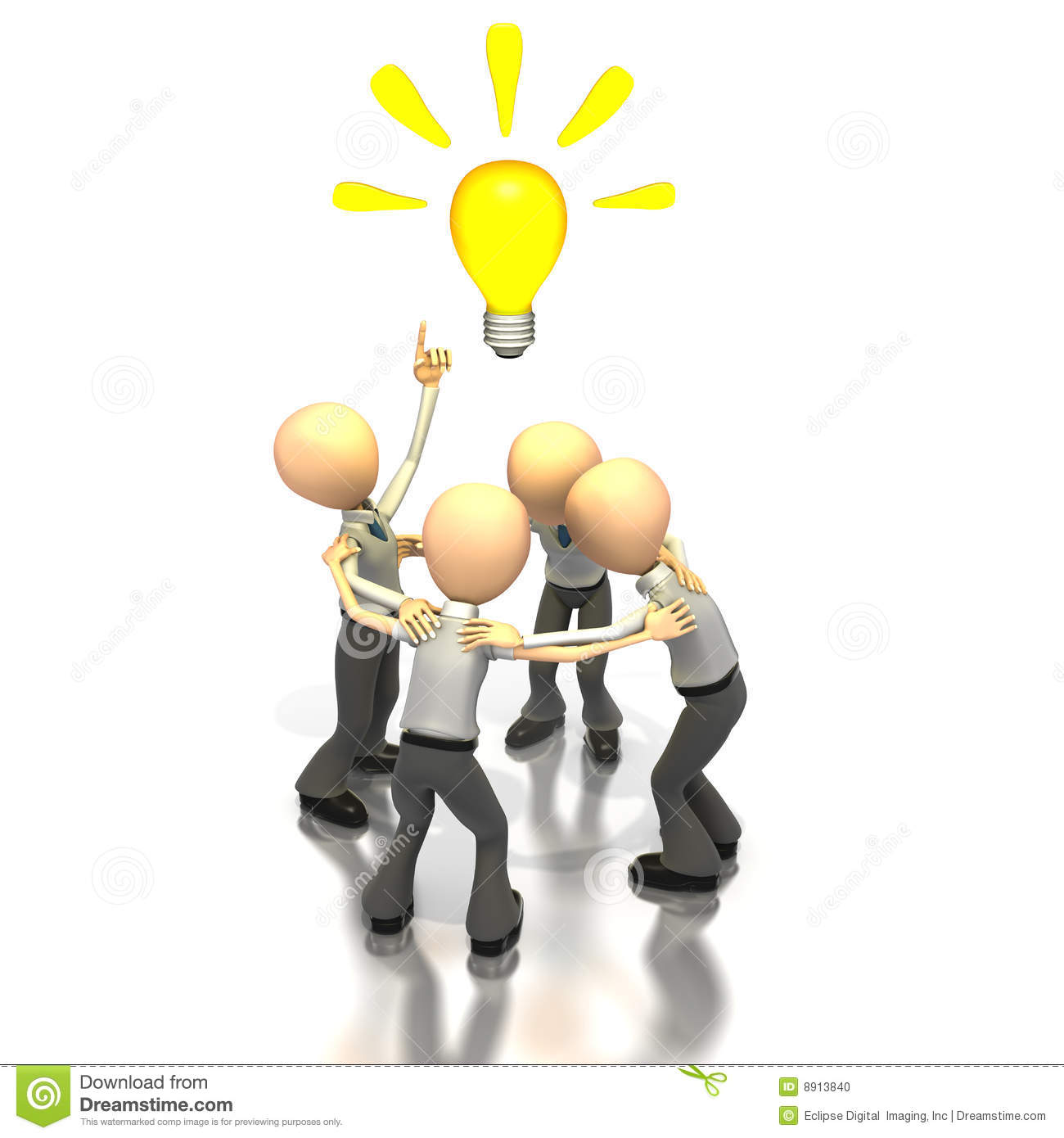Brainstorming Ideas Stock Photo Image 8913840