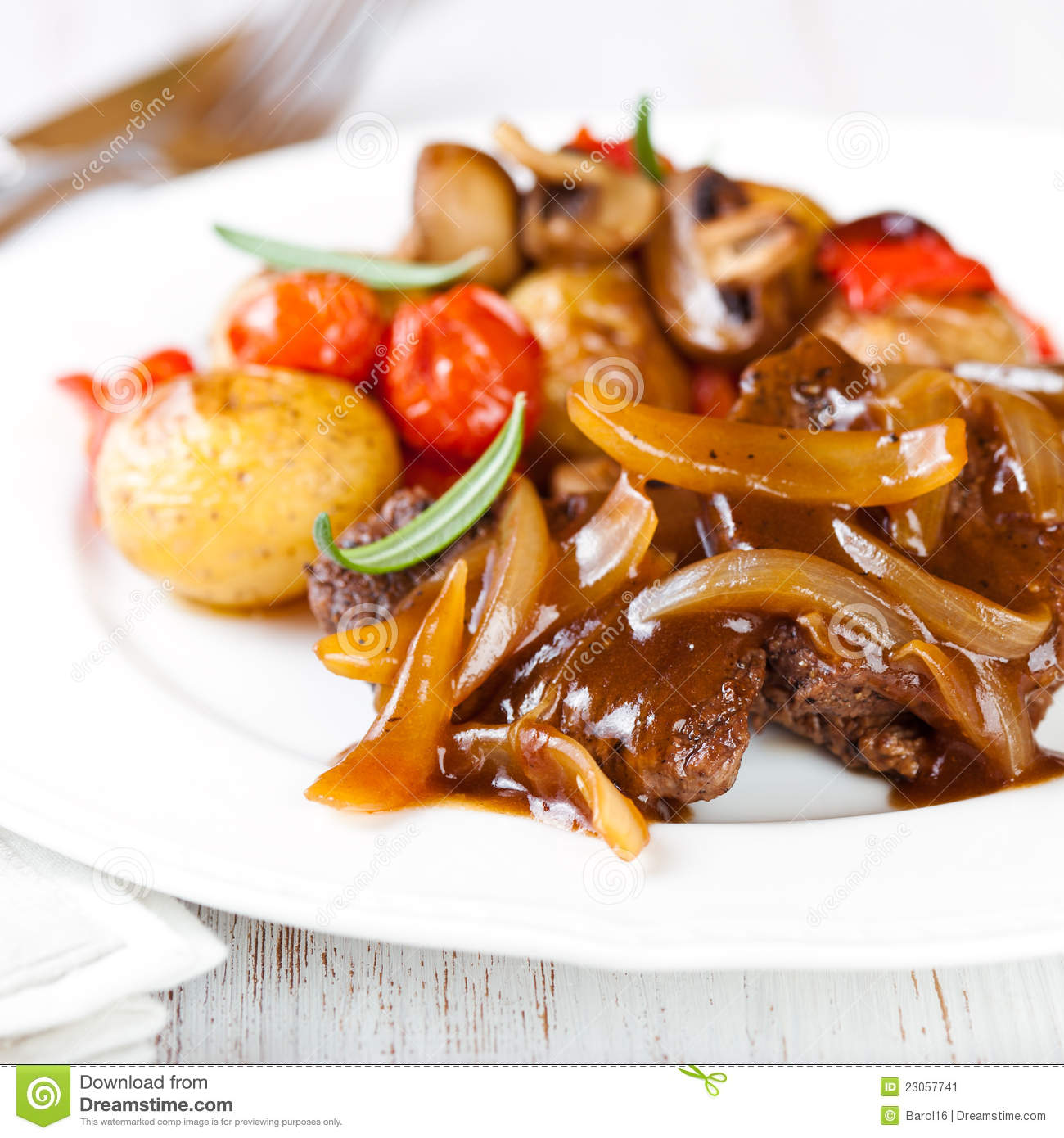 Braised Beef And Onions Recipes — Dishmaps
