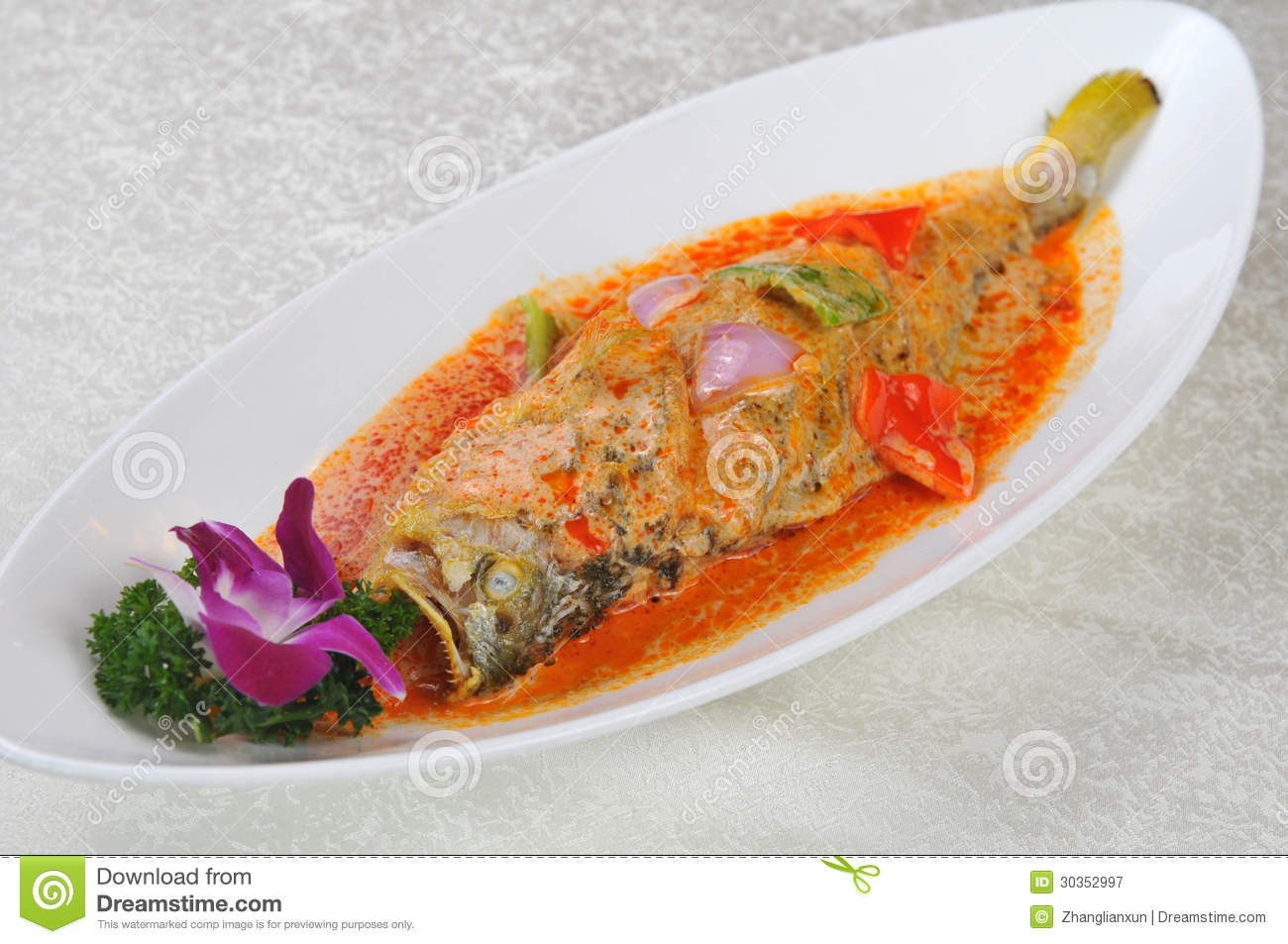 Braised fish royalty free stock photography image 30352997 for Soy sauce fish