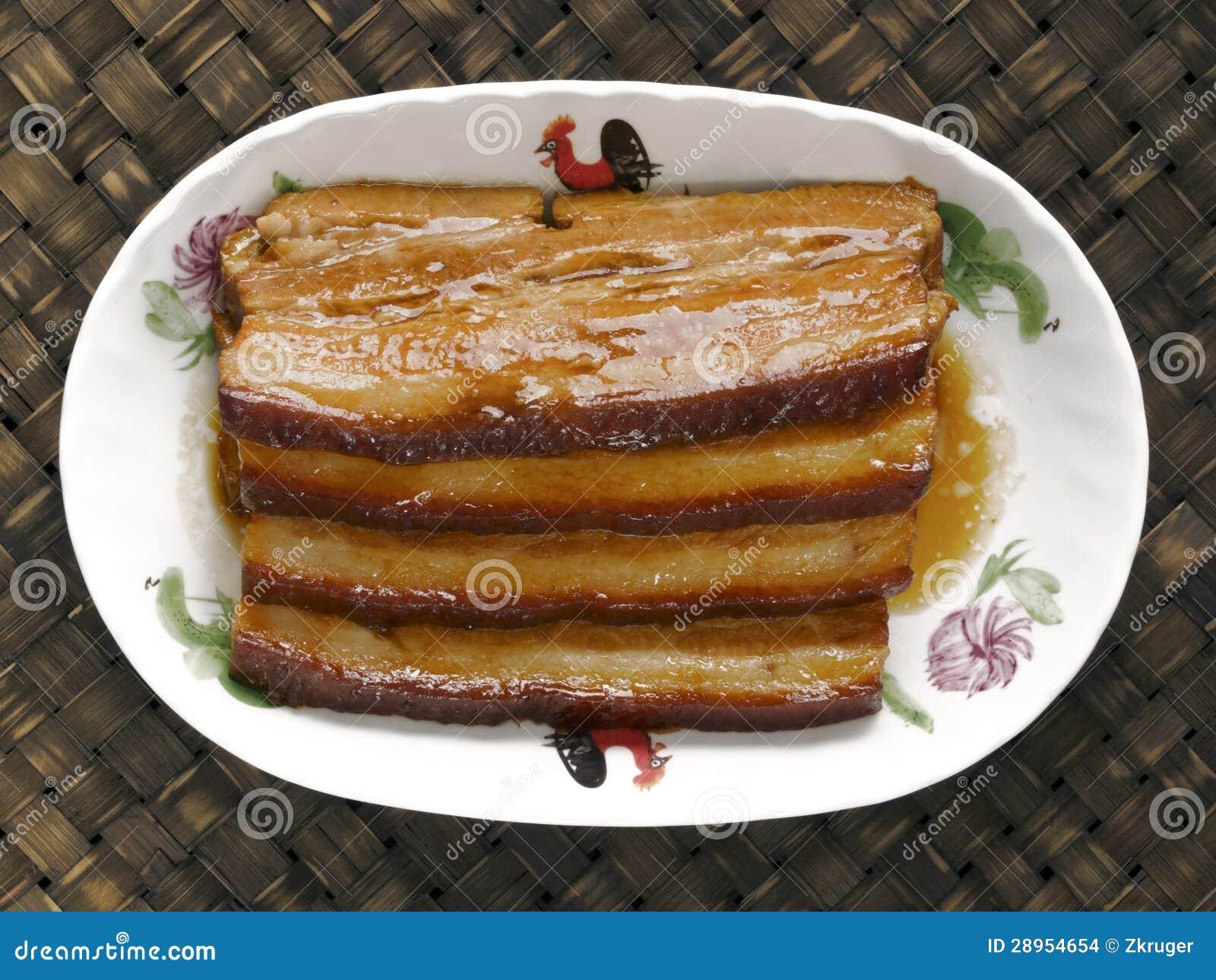 Braised wieprzowina brzuch