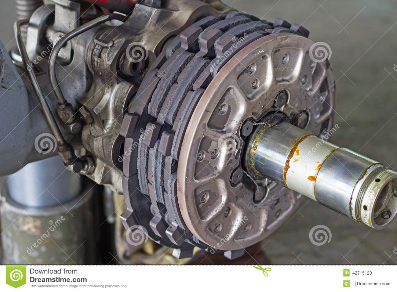 Brake Assembly Of Aircraft Stock Image Stopping 42715129 Disc System Braking Business Photo Gallery