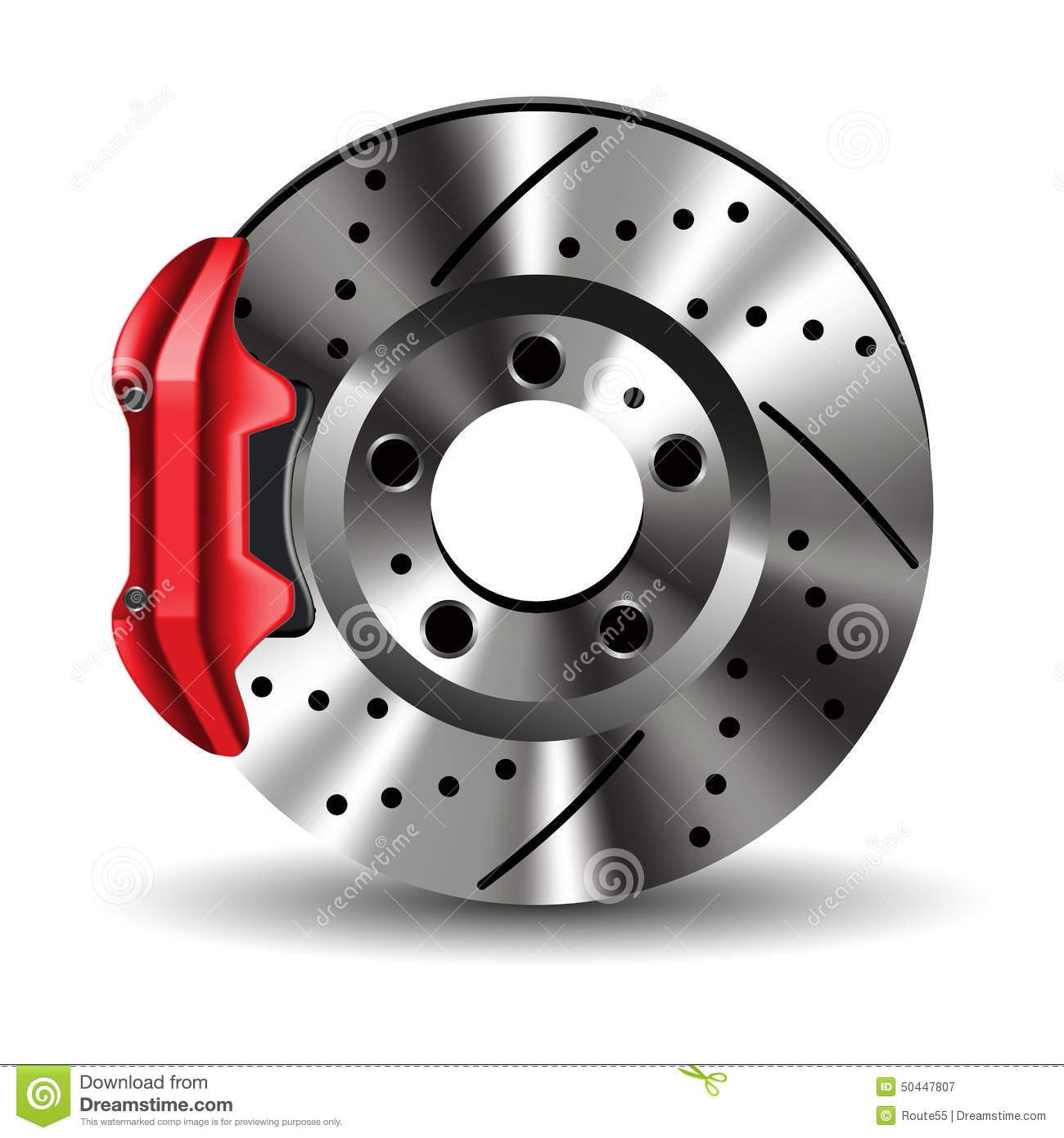 Brake Pads And Rotors Prices >> Brake Disc Stock Vector - Image: 50447807