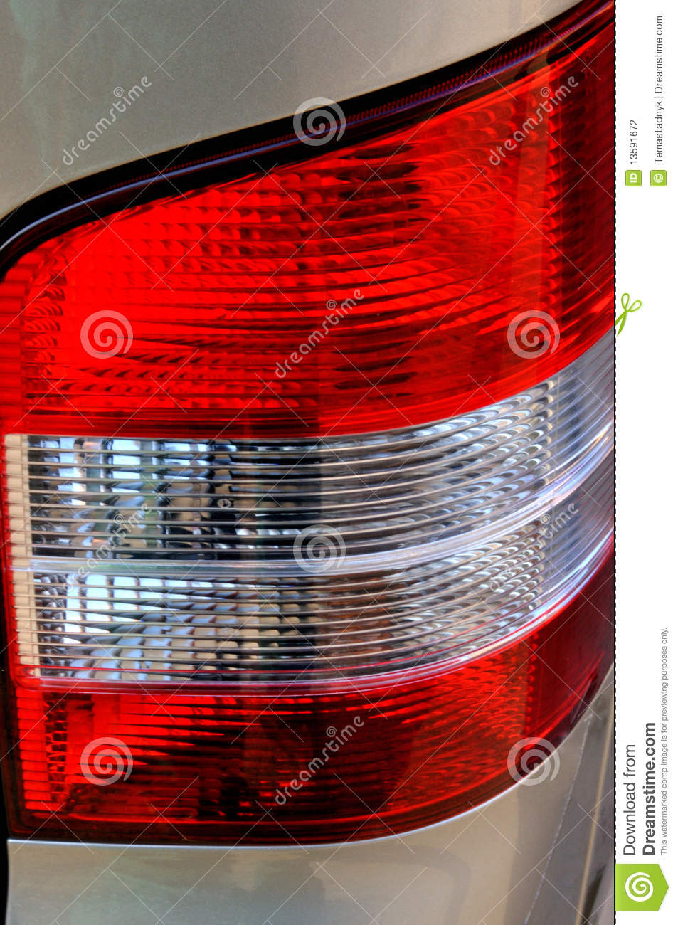 Charming Download The Brake Light Assembly Of A Modern Automobile Stock Photo    Image Of Shiny, Idea