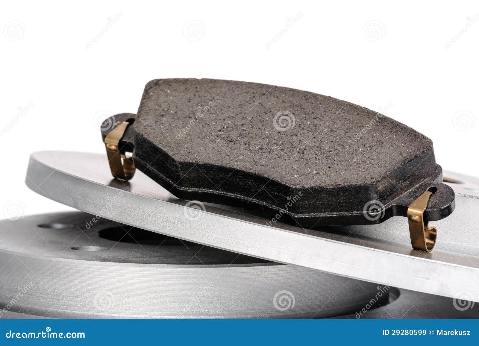 Download Brake pad and brake discs stock image. Image of free - 29280599