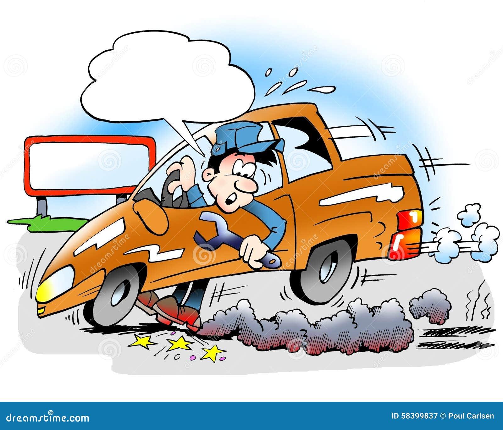 Car Brake Test : Brake test stock illustration image