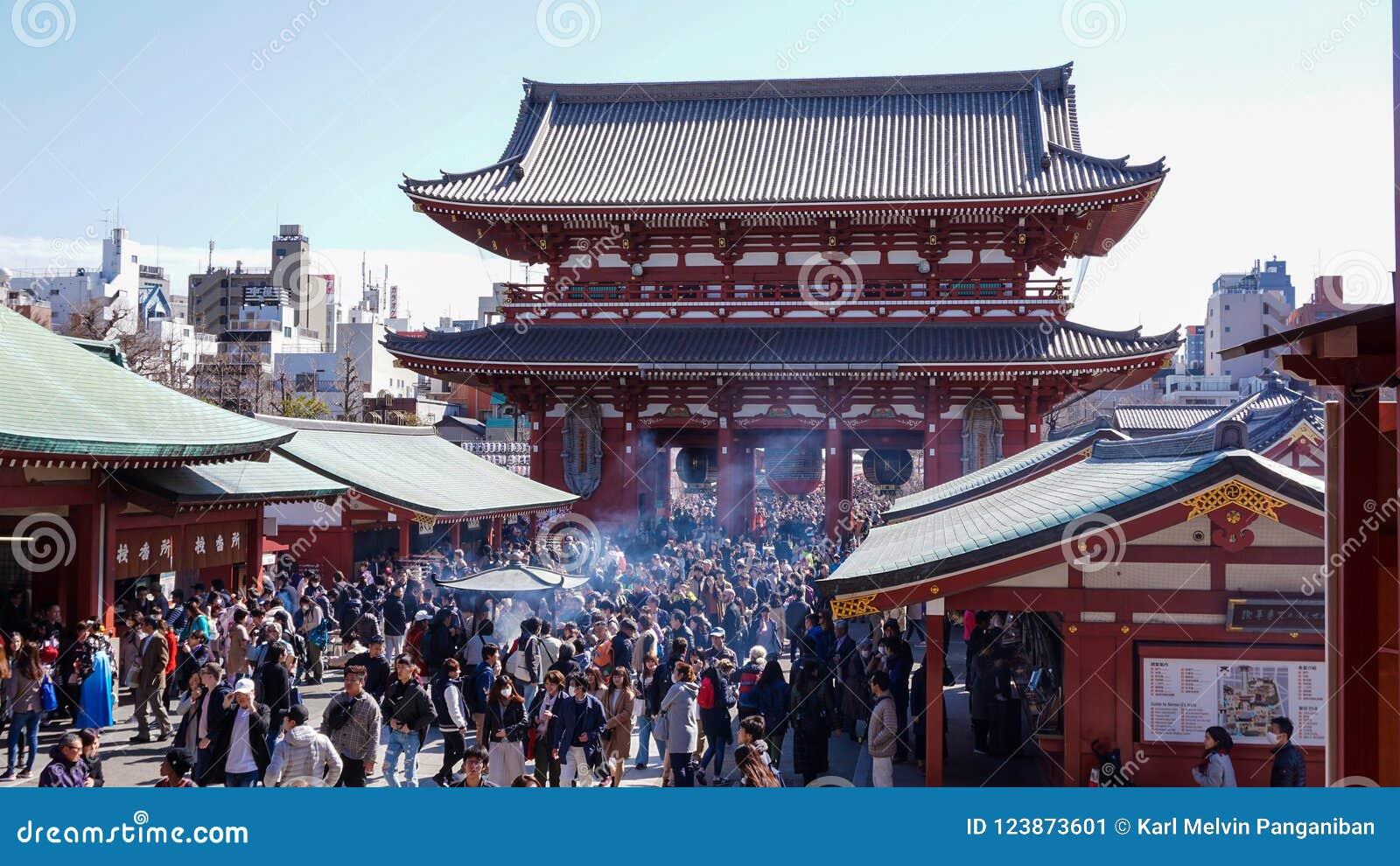 Brama Sensoji świątynia