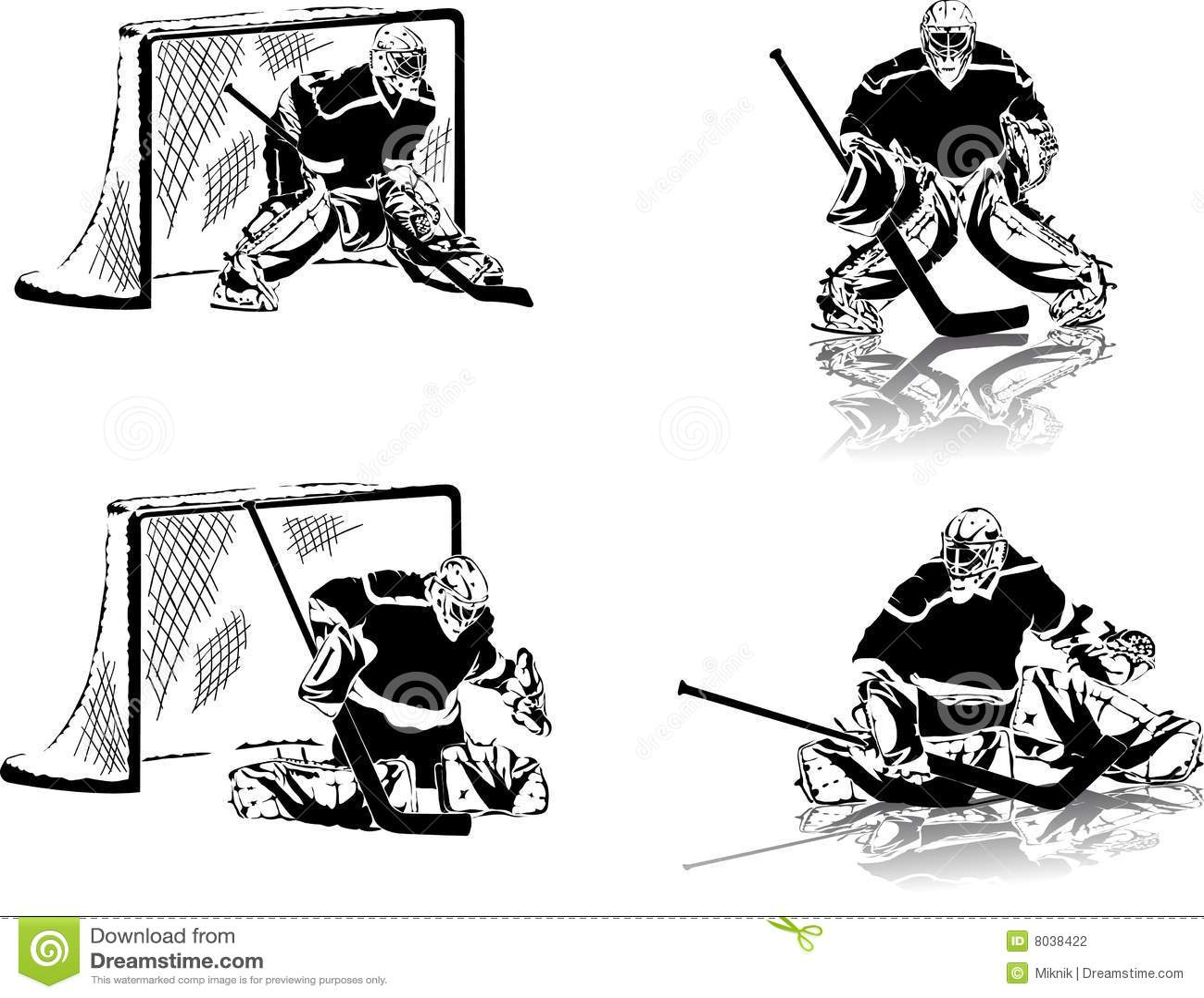Bramkarzów hokeja lód