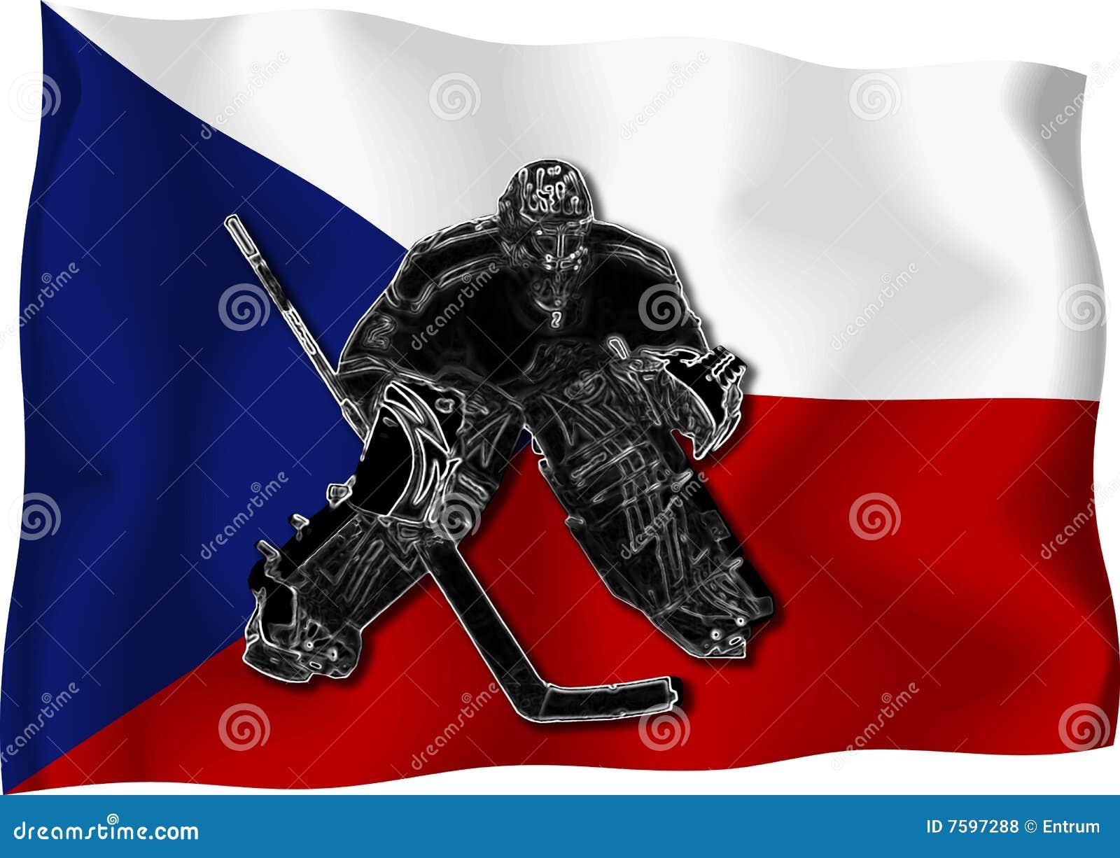 Bramkarza czeski hokej