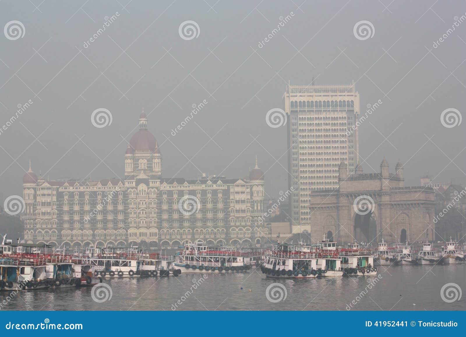 Bramy hotelowych ind mahal pałac taj