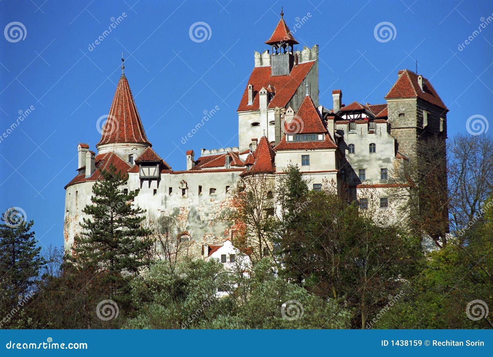 bran castle   dracula s castle stock image   image 1438159