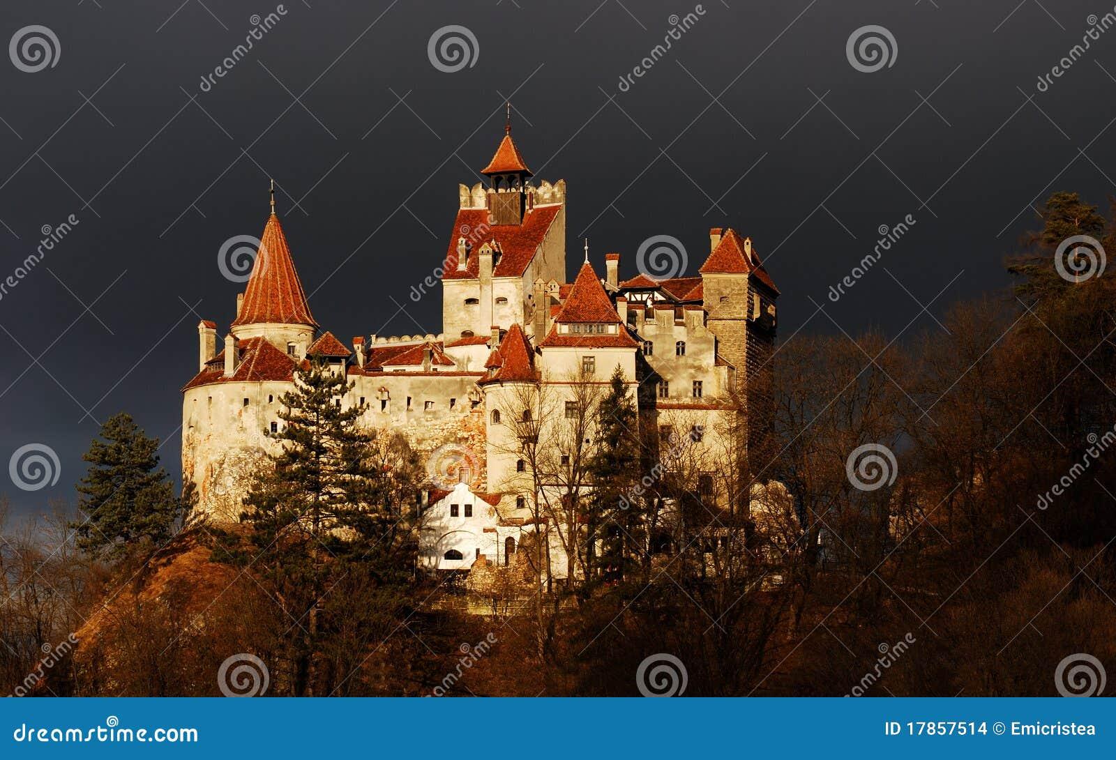Download Bran Castle, Romania stock photo. Image of construction - 17857514