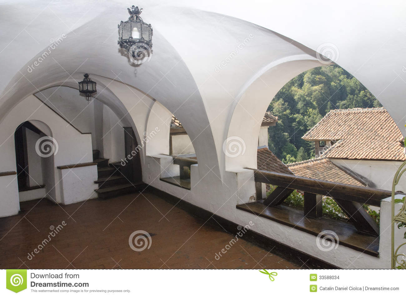 Bran castle, Romania editorial stock image. Image of ...