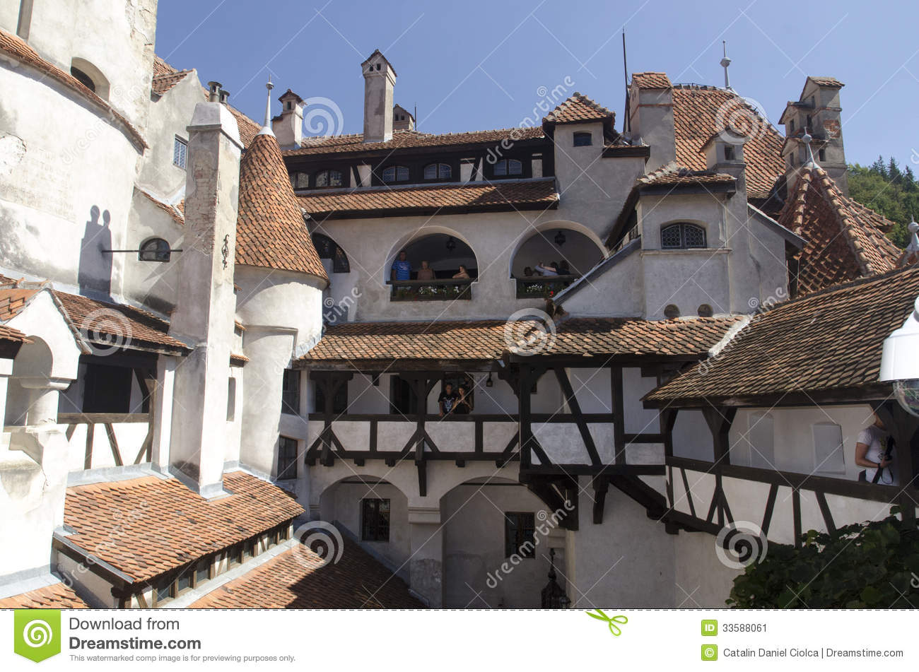 Bran Castle, Romania Editorial Photo - Image: 33588061